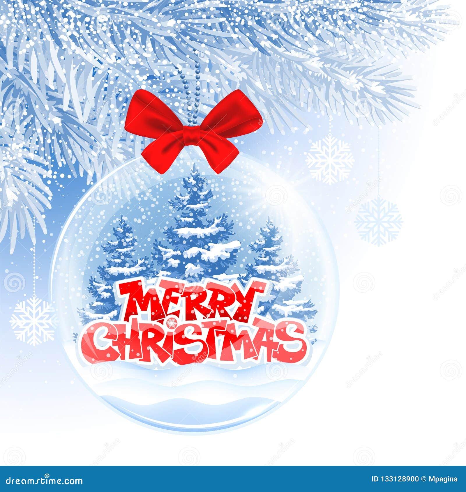 Bola de la Navidad y del Año Nuevo