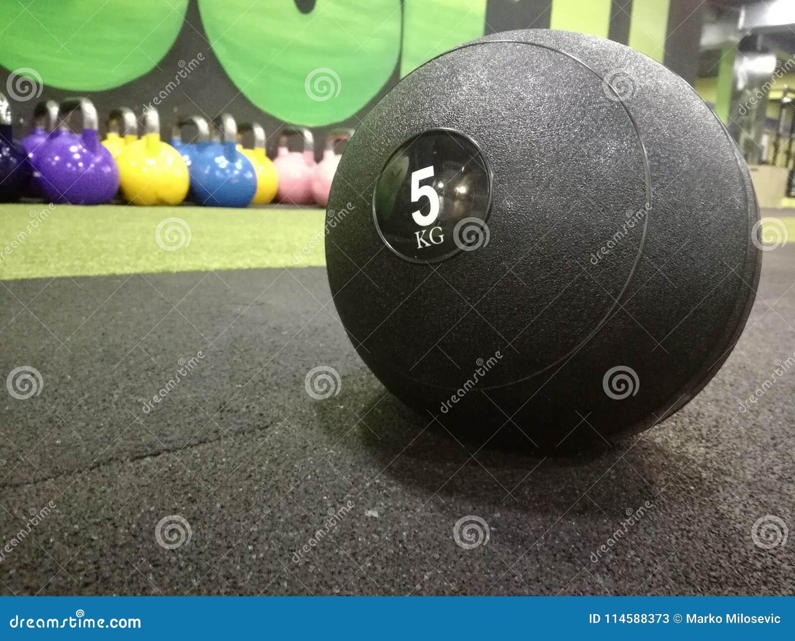Bola de medicina no gym