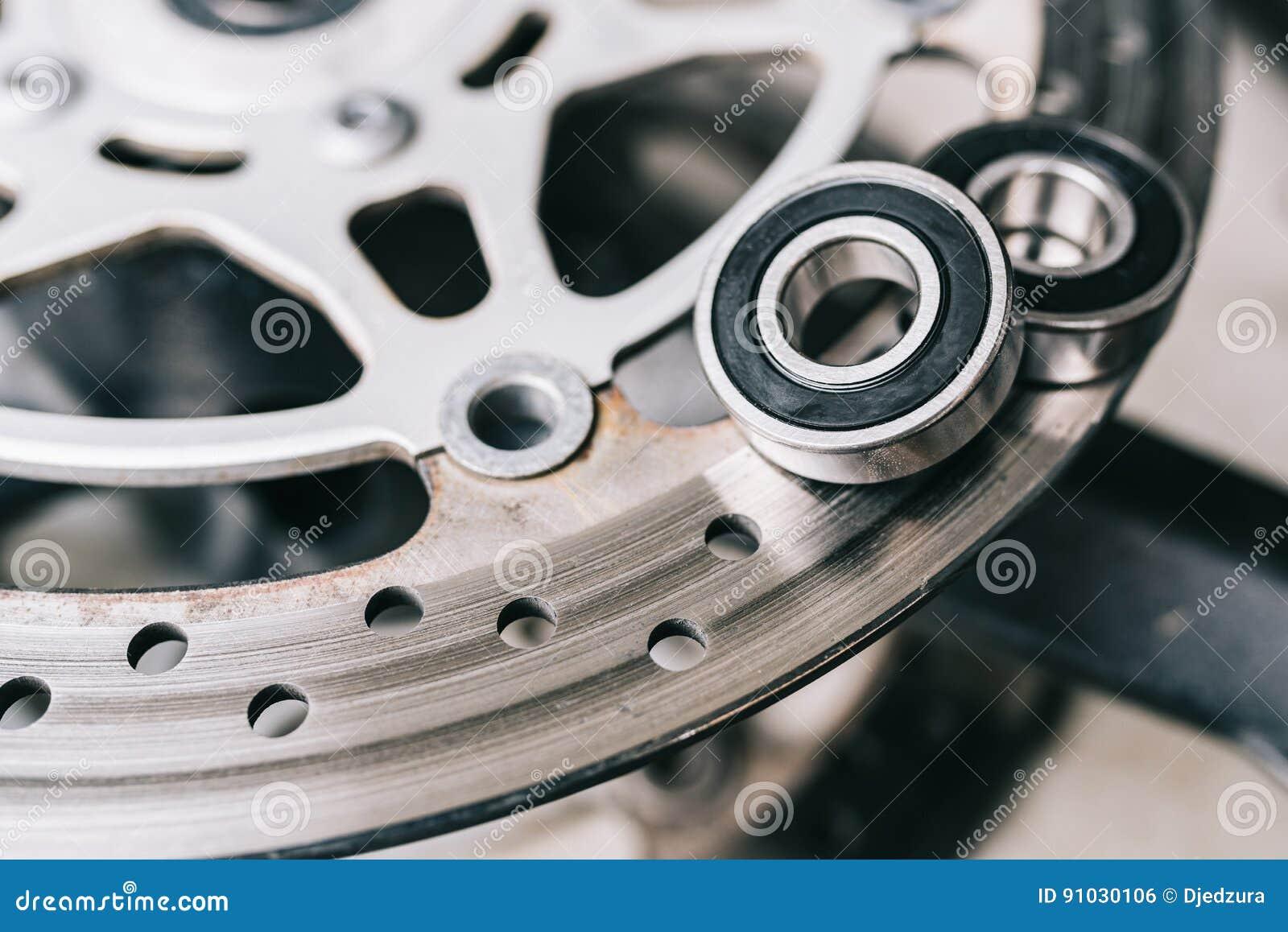 Bola de metal concerniente freno de disco de la motocicleta
