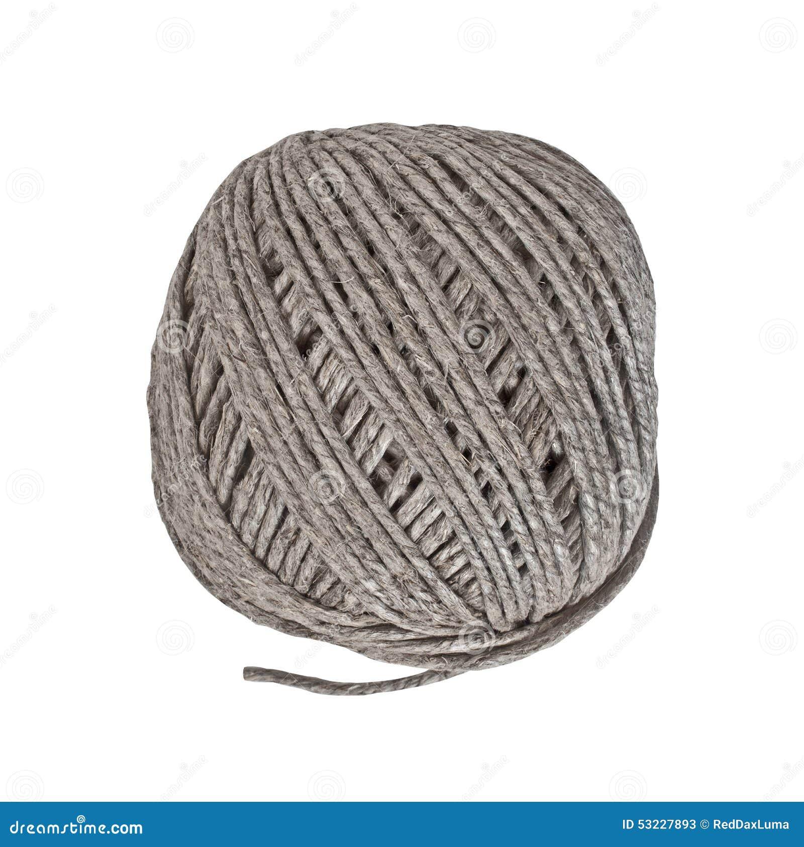 Bola del cordón del cáñamo del vintage