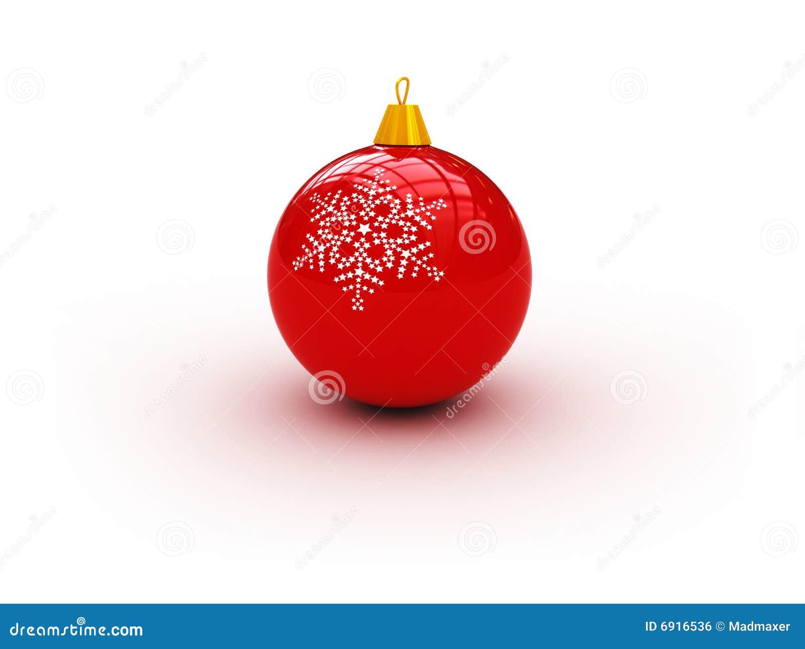 Bola roja de navidad for Arbol de navidad con bolas rojas