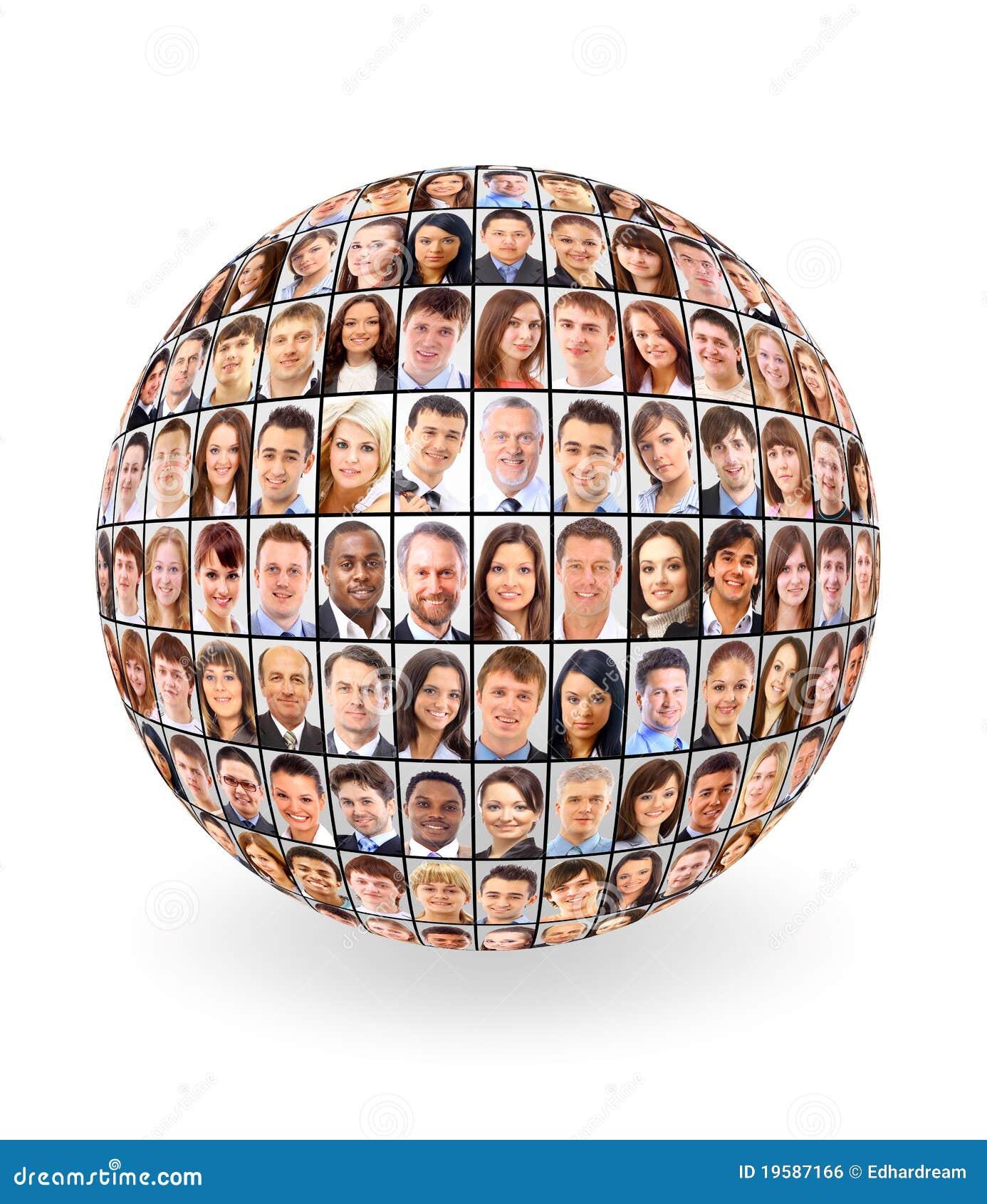 Bola y gente
