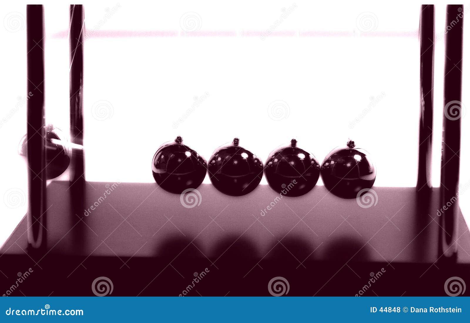 Download Bolas 2 de los neutonios foto de archivo. Imagen de extracto - 44848