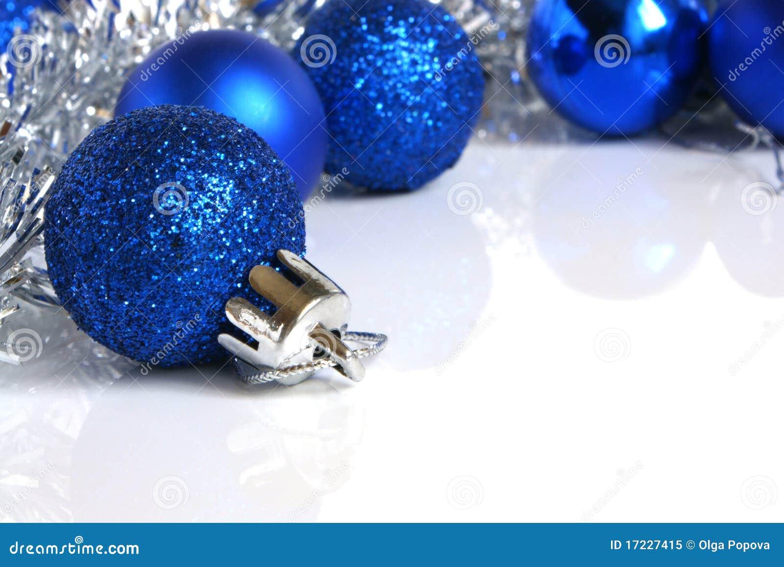 Bolas azules de la navidad imagen de archivo imagen de for Dibujos de navidad bolas