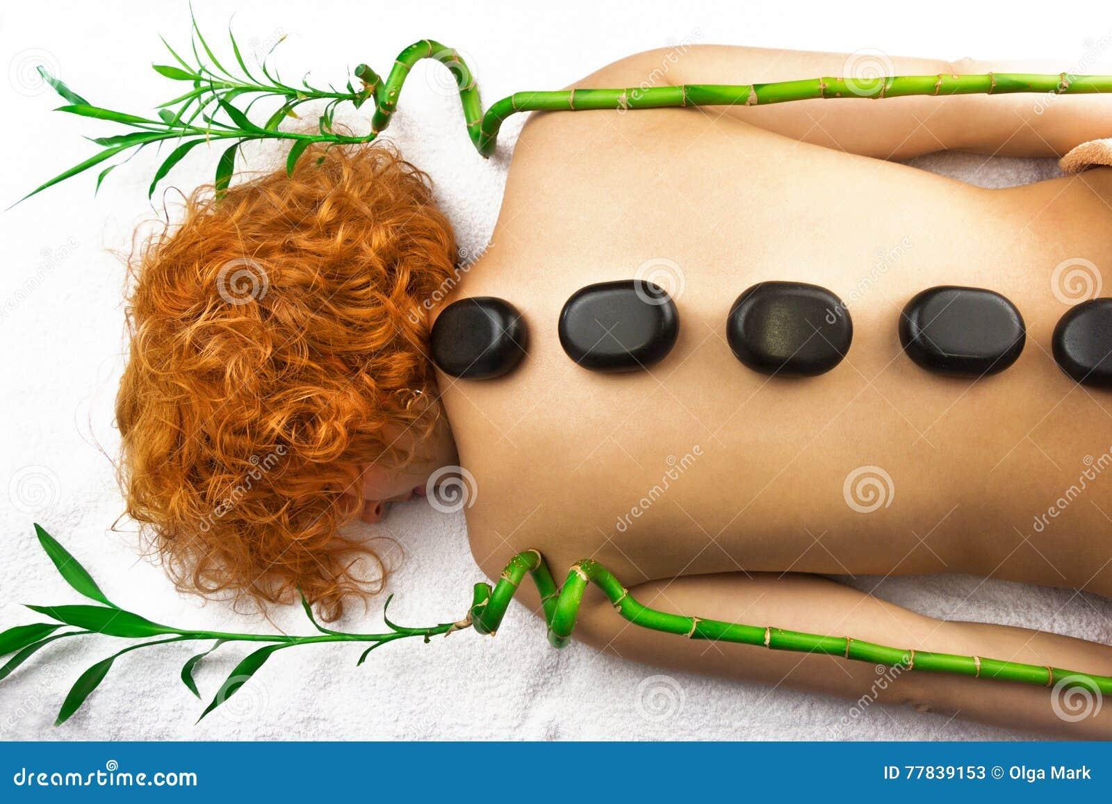 Bolas da compressa dos termas da massagem de matéria têxtil
