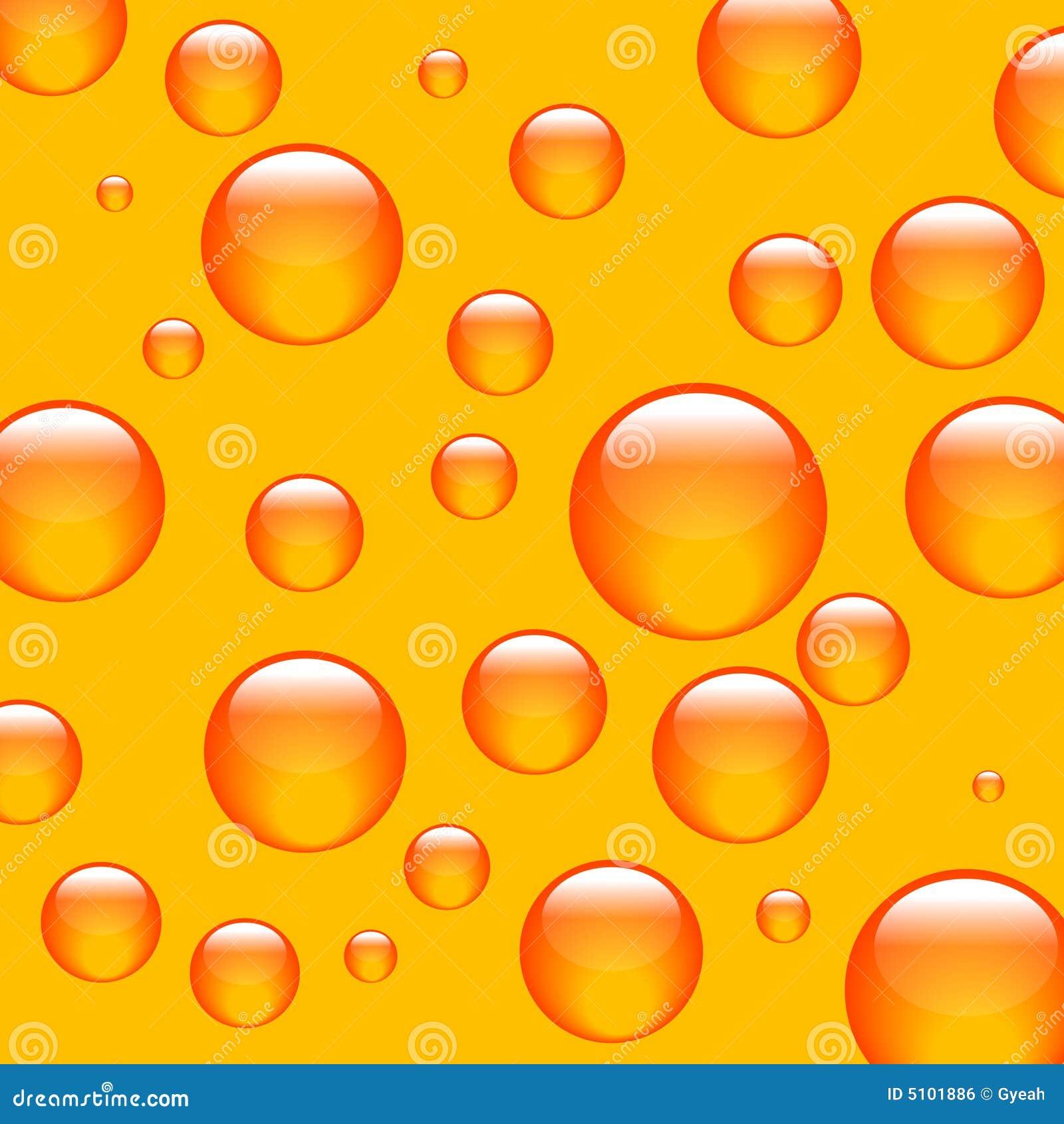 Bolas de la naranja del fondo