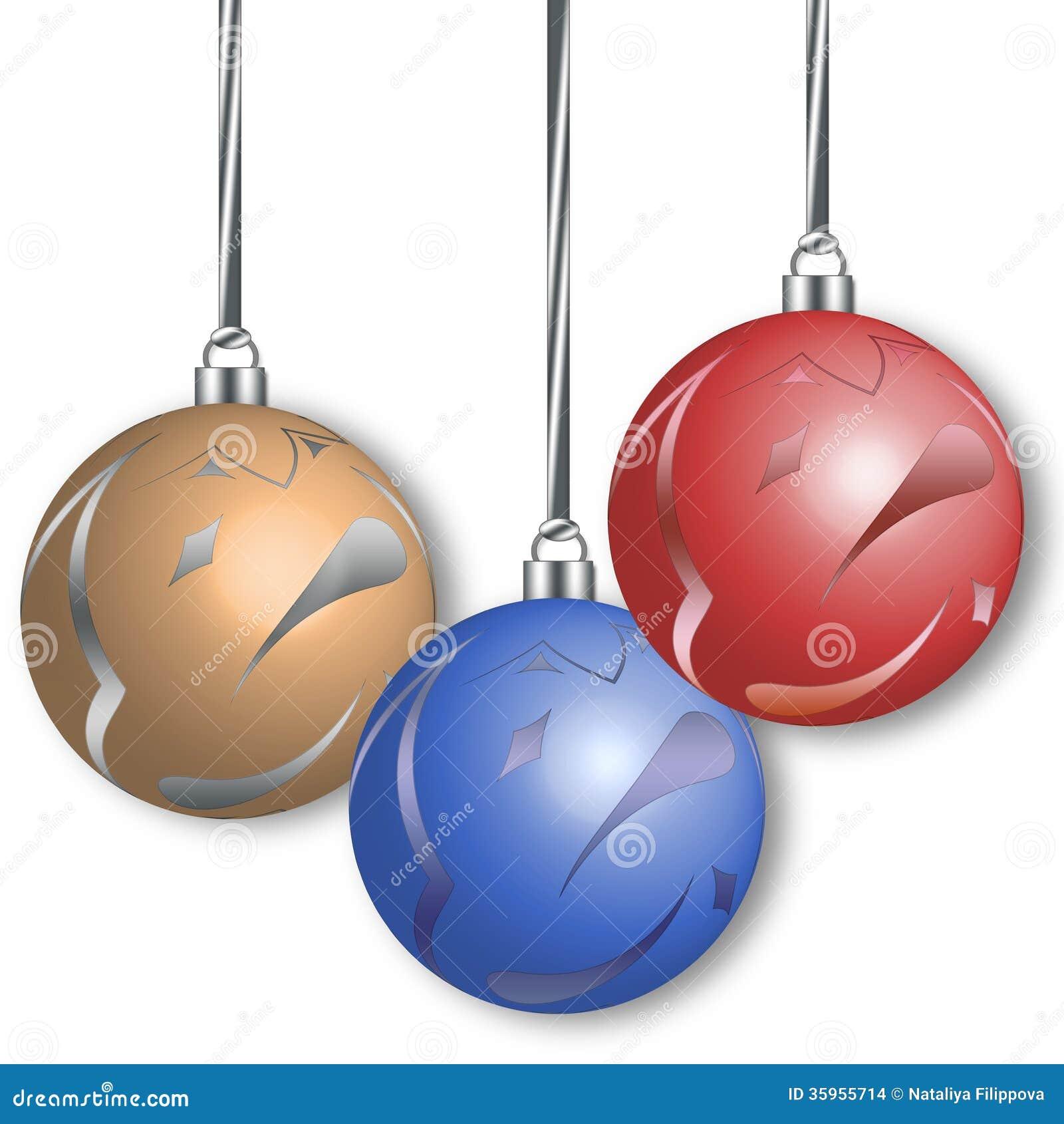 Bolas de la Navidad