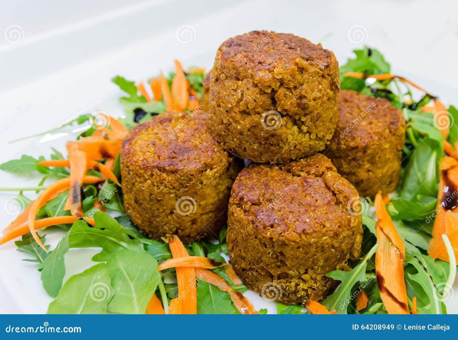 Bolas de la quinoa