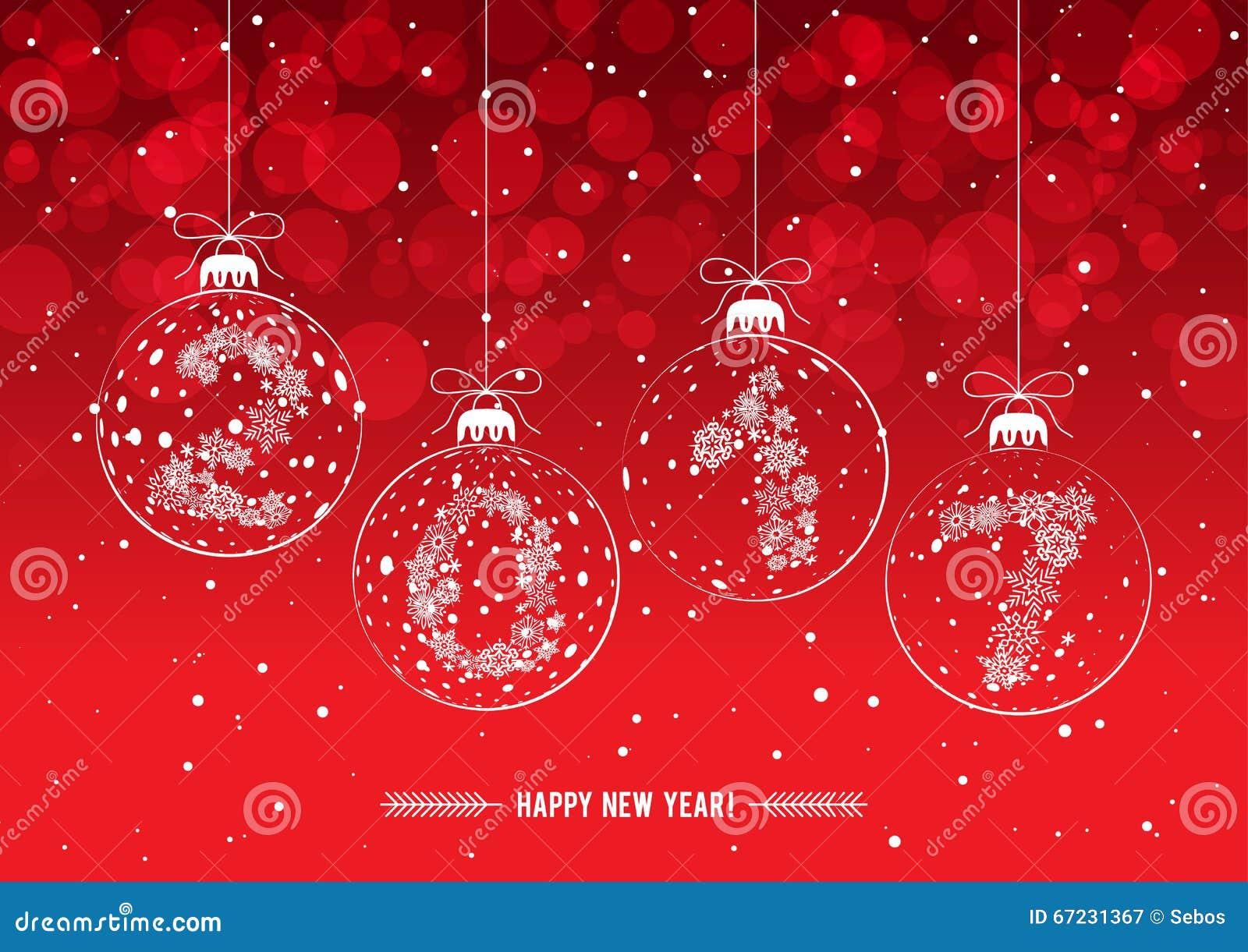 Bolas de las decoraciones de la navidad con los cuadros for Decoracion de navidad 2017