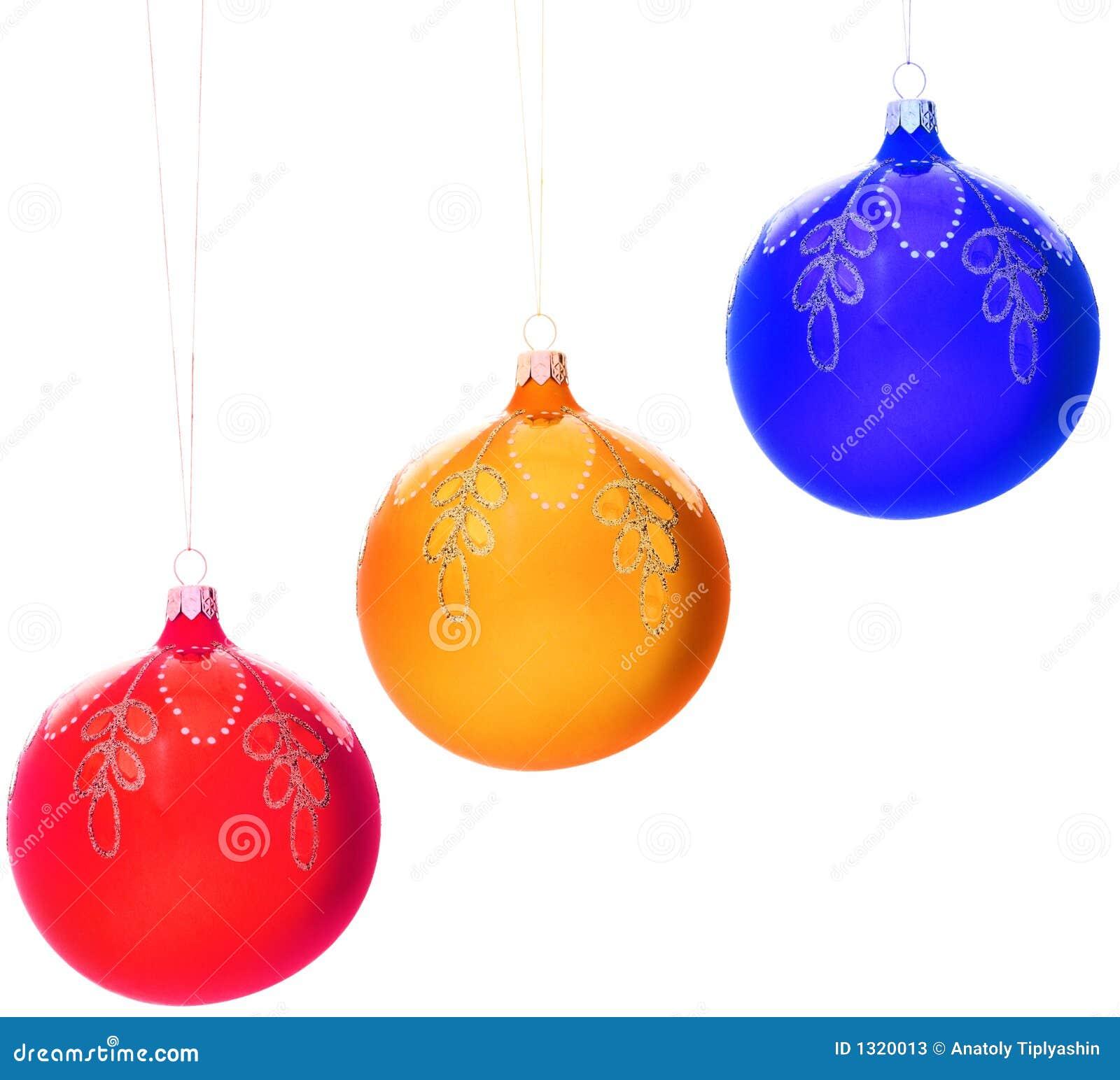 Bolas de las decoraciones del navidad rbol imagen de - Bola arbol navidad ...