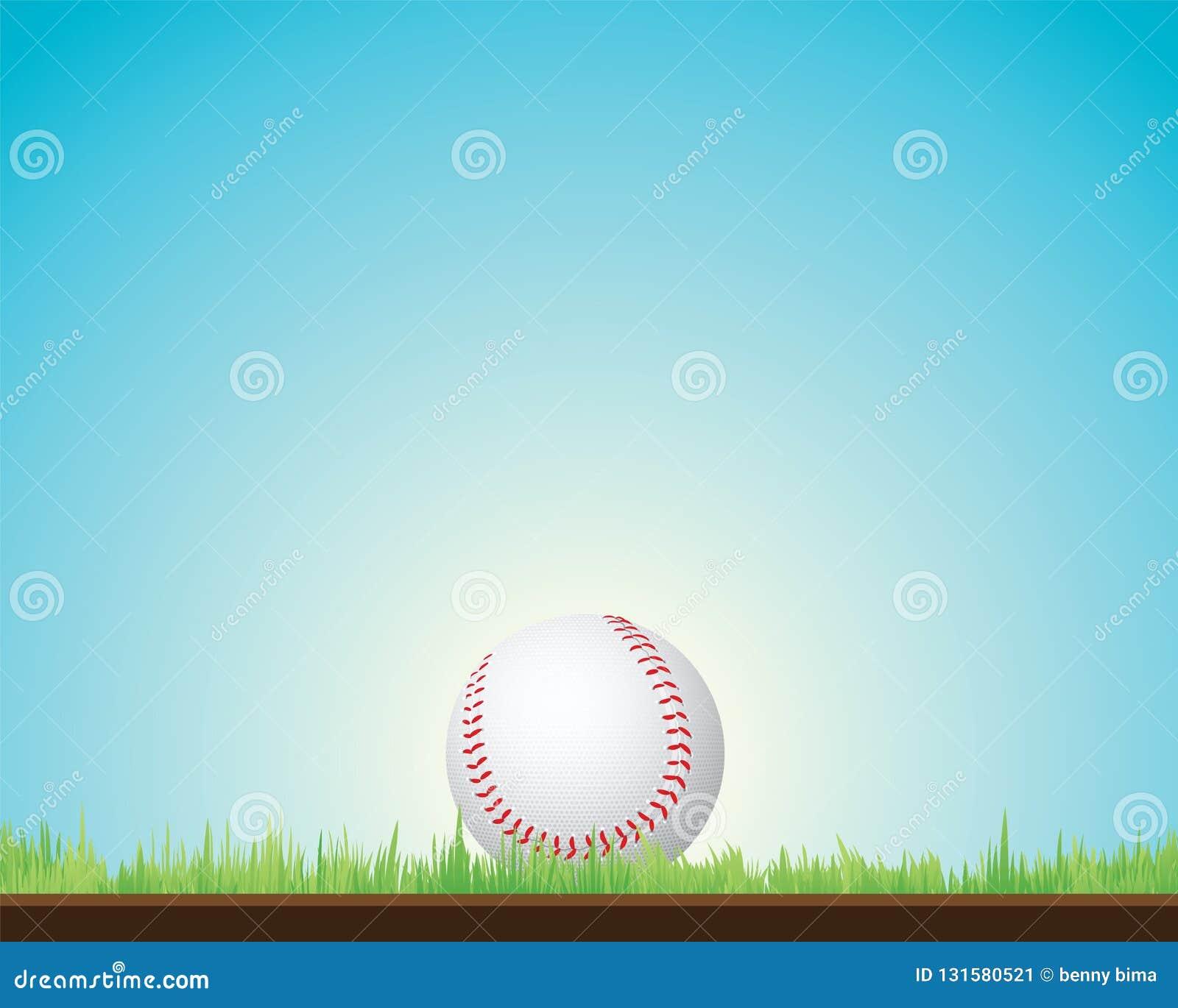 Bolas de los deportes del béisbol,
