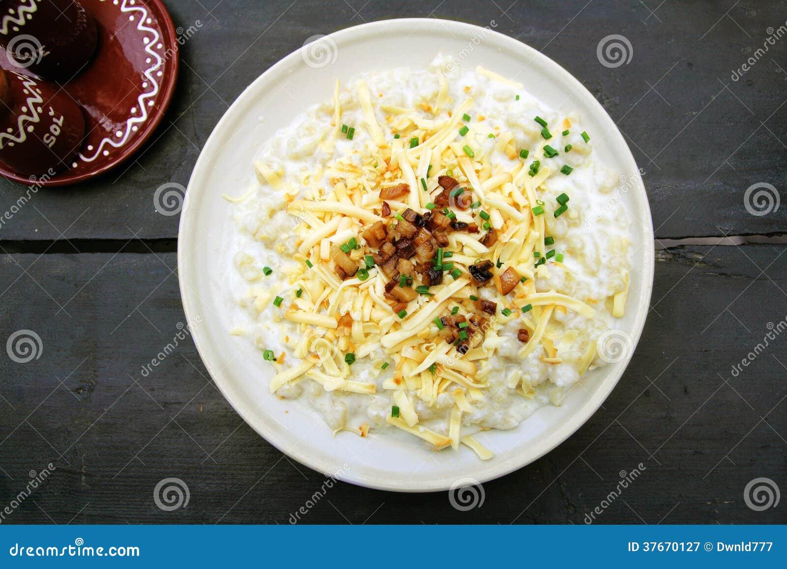 Bolas de masa hervida de la patata