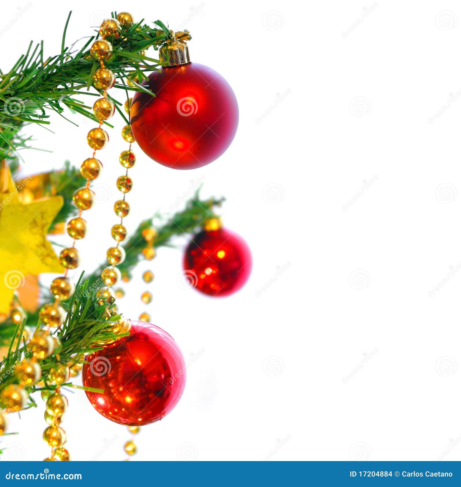 Bolas de navidad imagenes de archivo imagen 17204884 for Arbol de navidad con bolas rojas