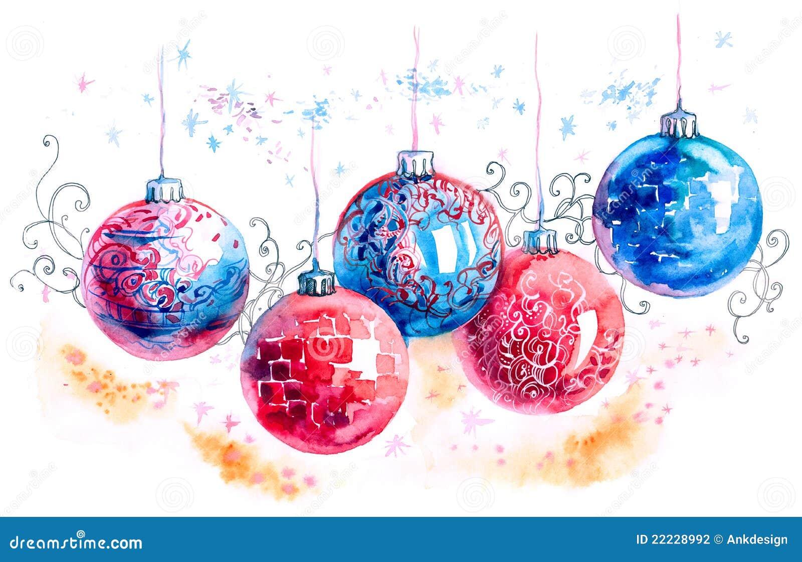 Bolas de navidad stock de ilustraci n imagen de bolas for Dibujos de navidad bolas