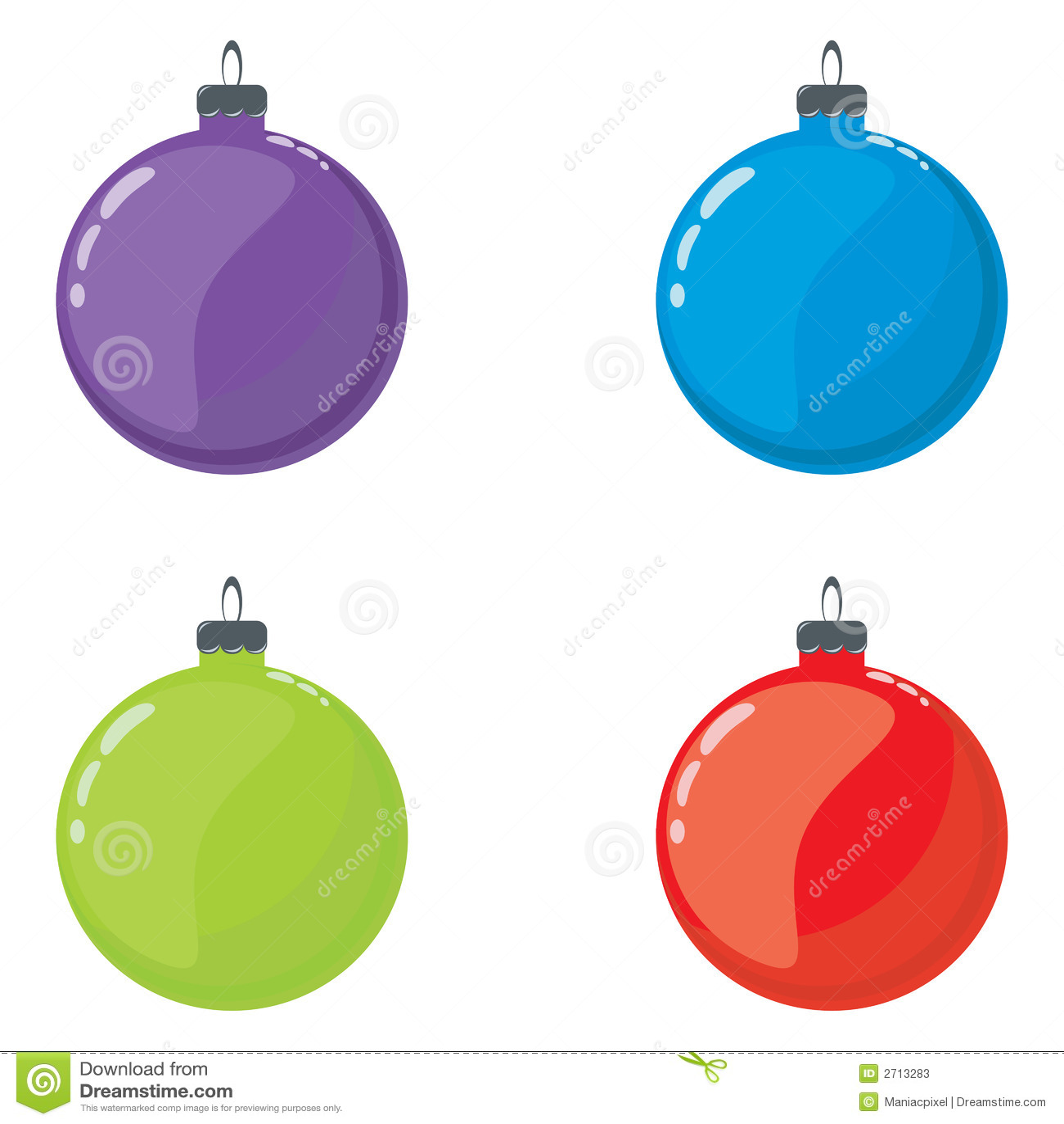 Bolas de navidad fotos de archivo imagen 2713283 - Bolas de navidad ...