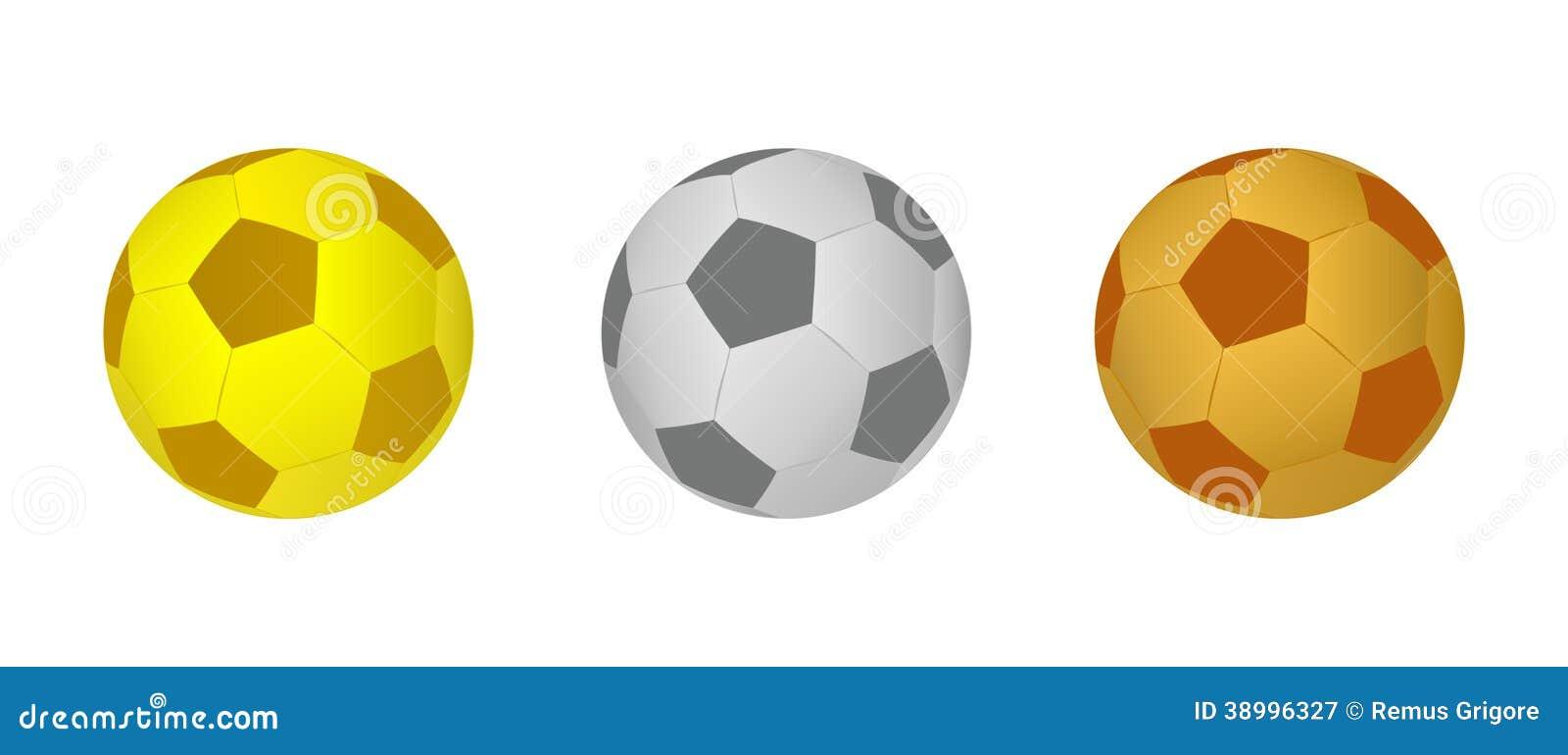 Bolas del fútbol