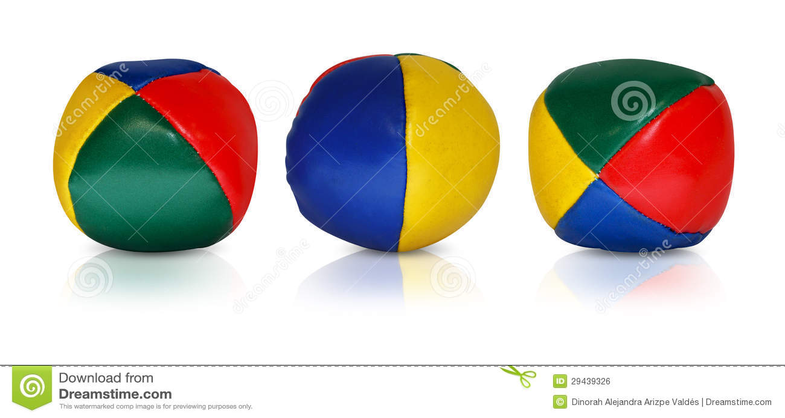Bolas del juglar que reflejan
