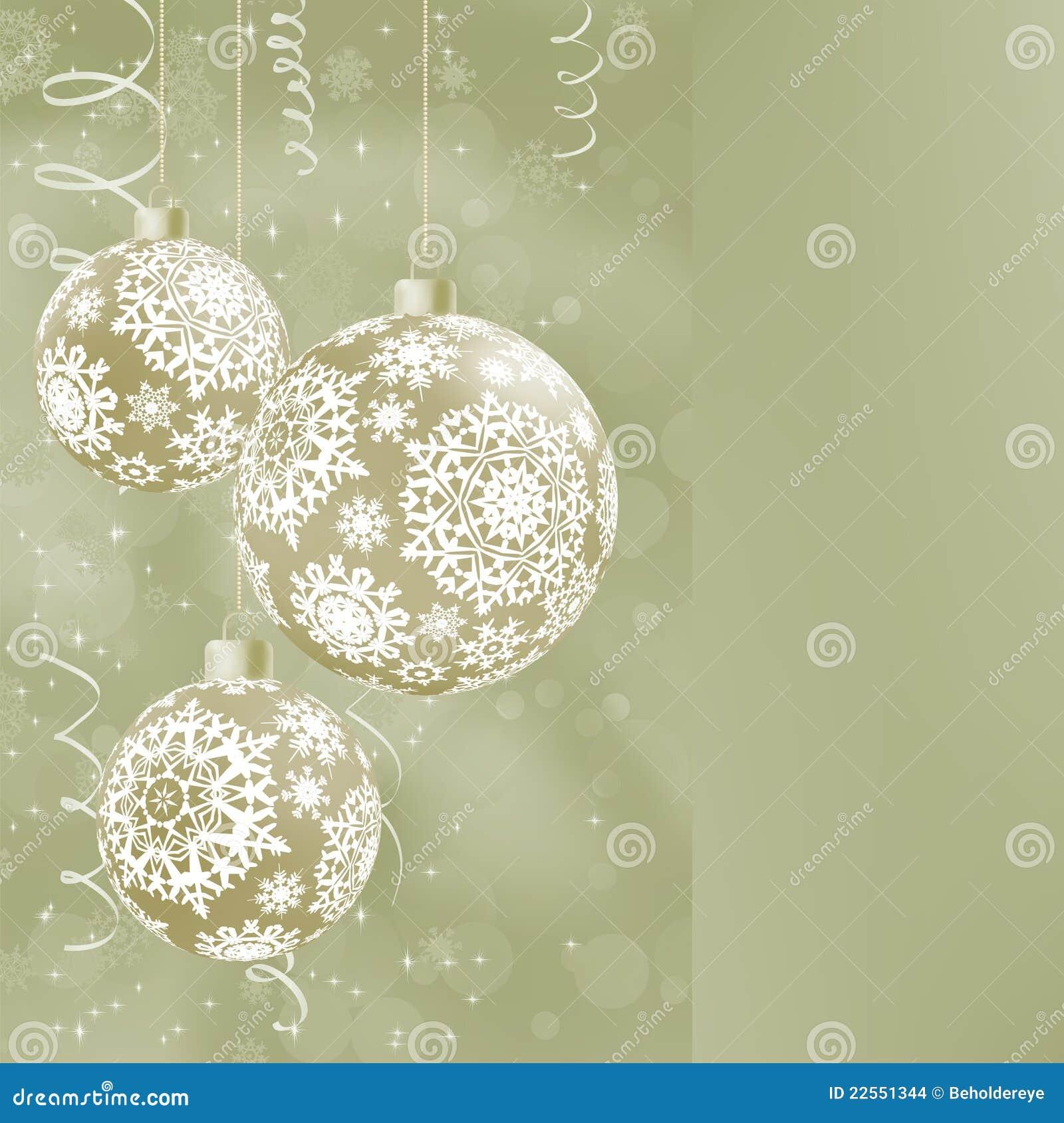 Bolas elegantes de la navidad en extracto eps 8 - Tarjetas de navidad elegantes ...