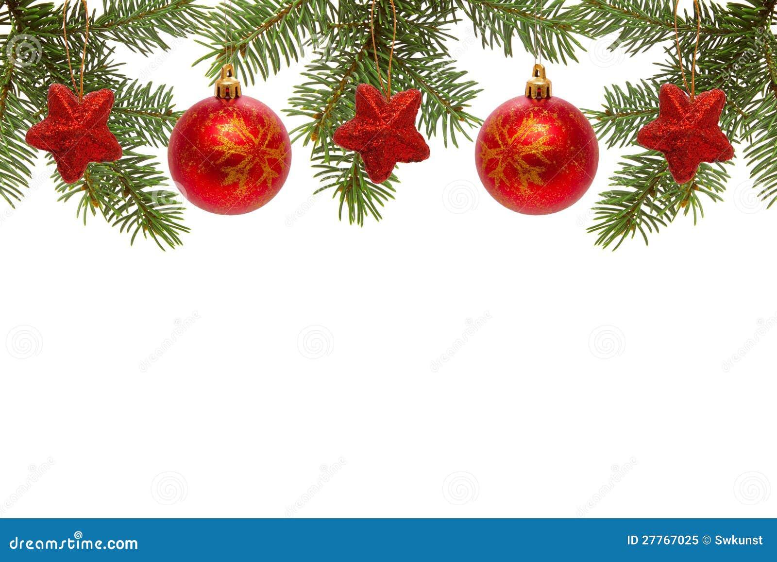 Bolas y estrellas rojas de la navidad foto de archivo - Bolas de navidad rojas ...