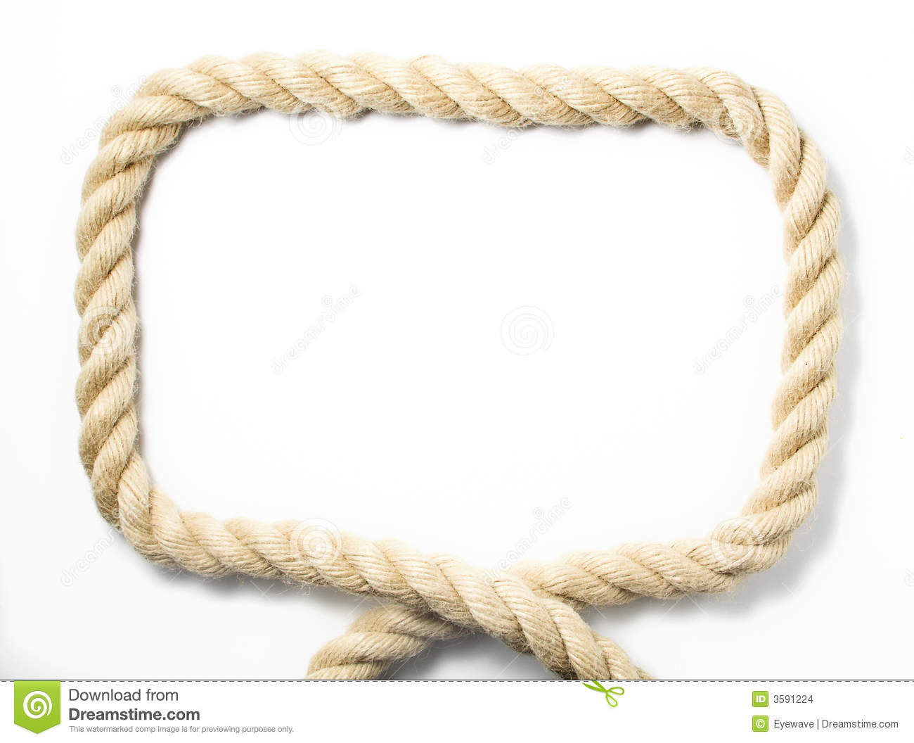 Bold rope frame stock images image 3591224 Rope photo frame