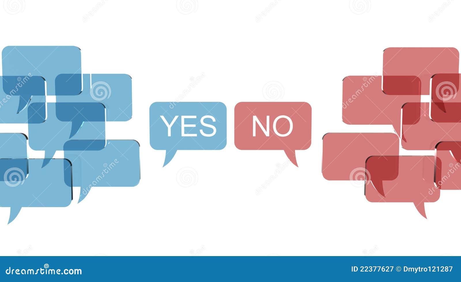 A bolha fala com duas opinies opostas ilustrao stock ilustrao a bolha fala com duas opinies opostas ccuart Gallery