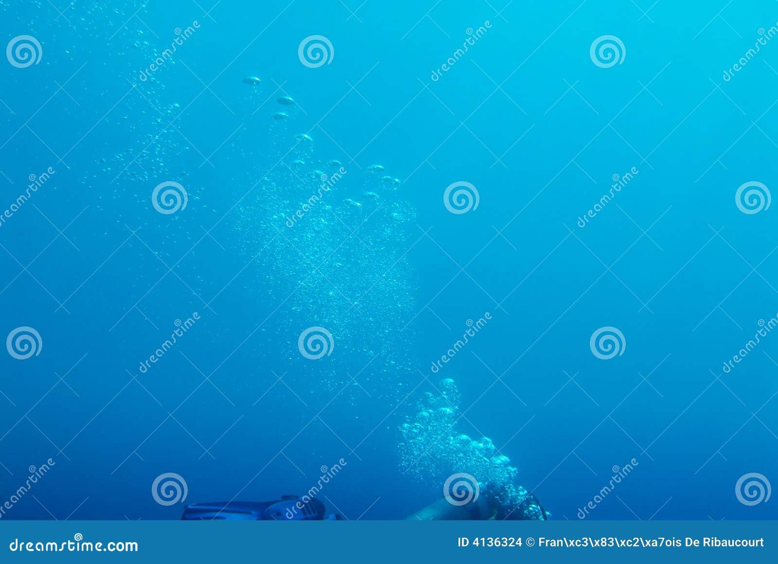 Bolhas de ar de aumentação