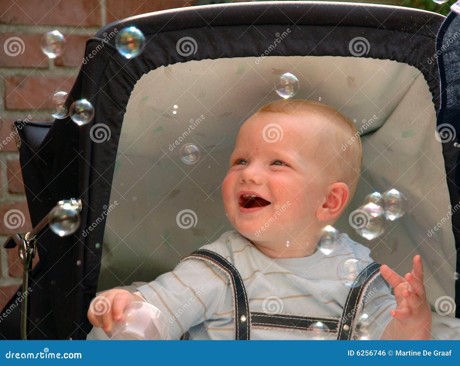 Bolhas de travamento do bebê