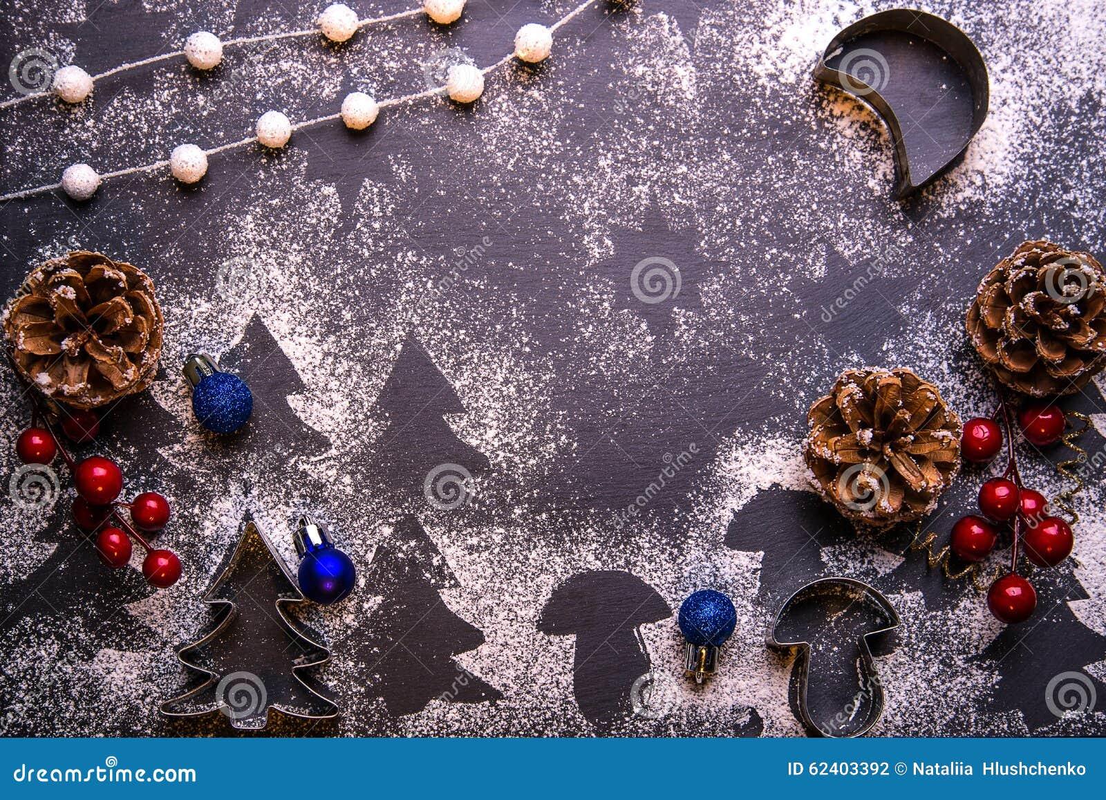 Bolinhos do Natal Ingredientes para o cozimento