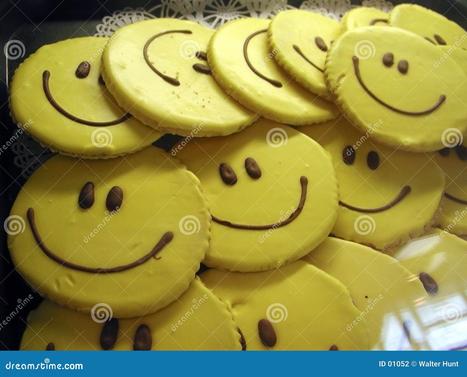 Bolinhos do smiley