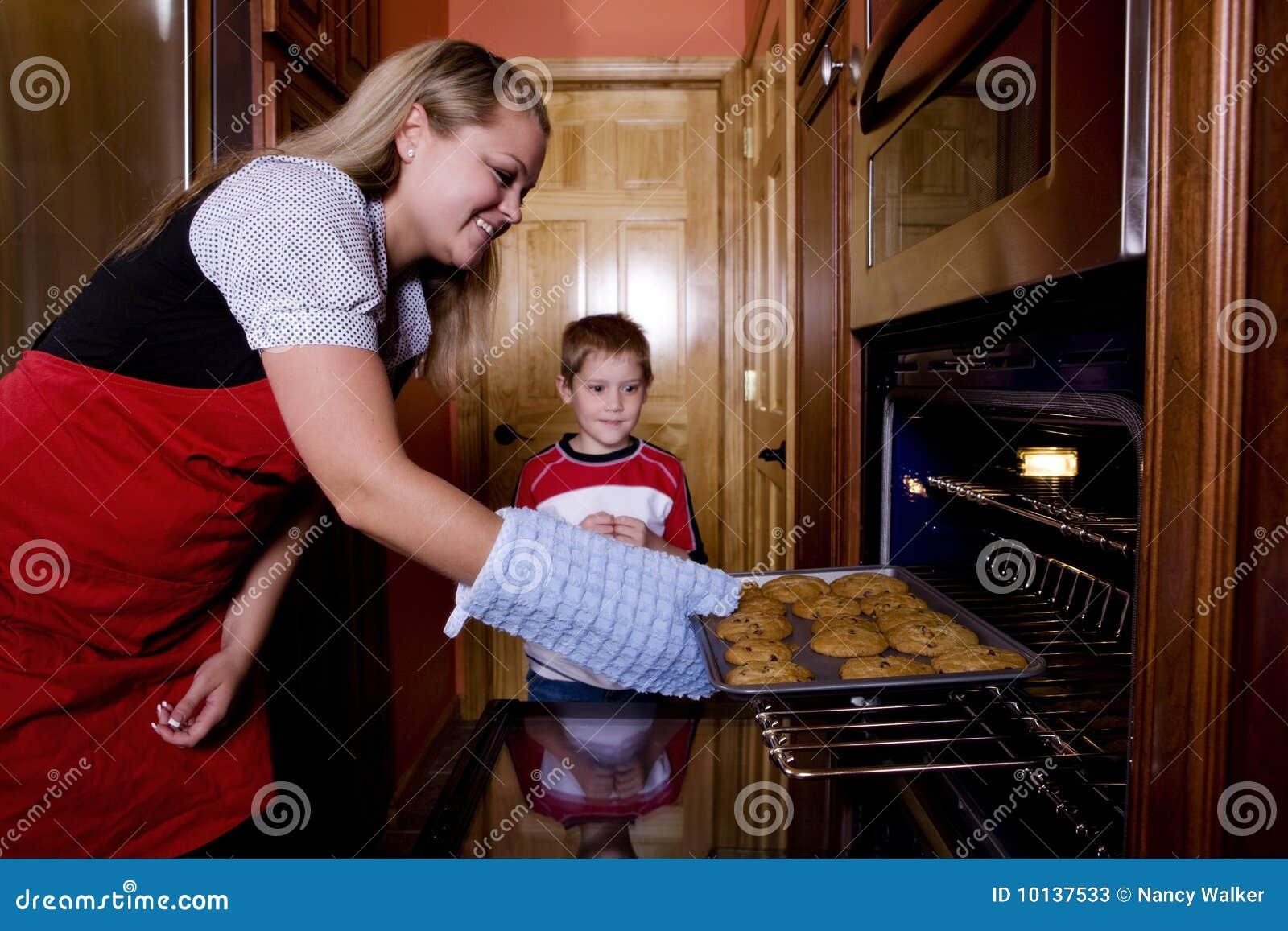 Bolinhos no forno