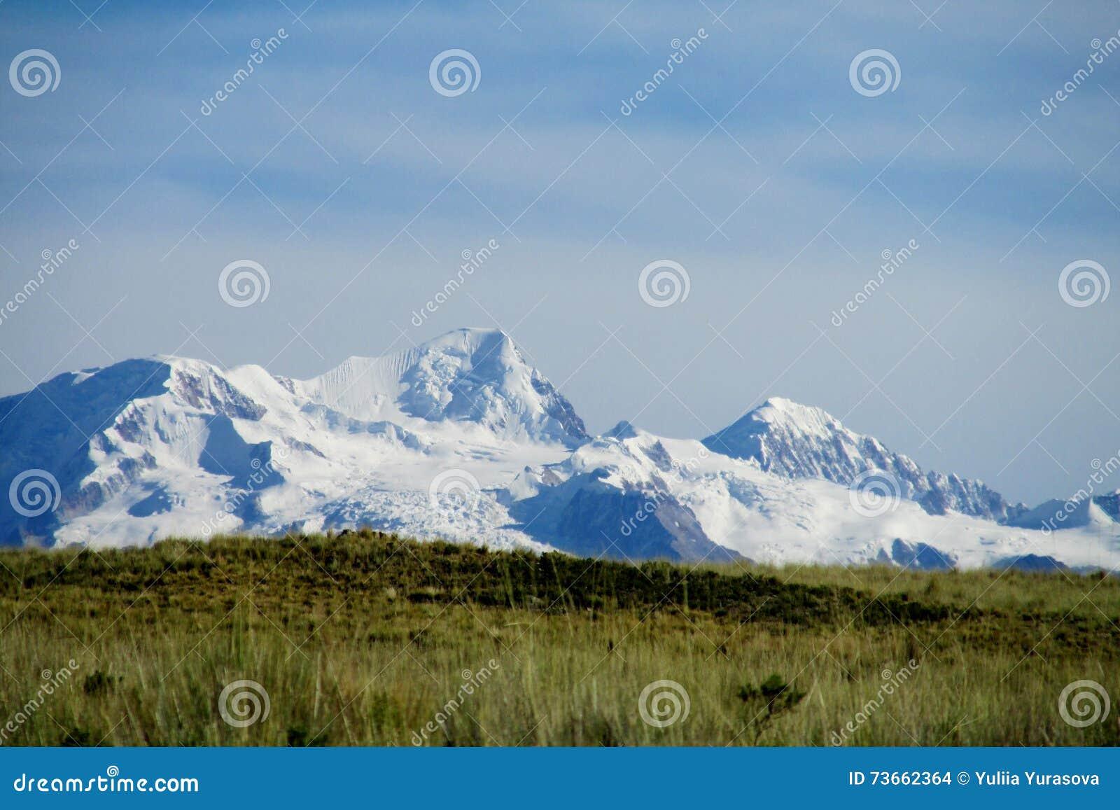Bolivia los Andes