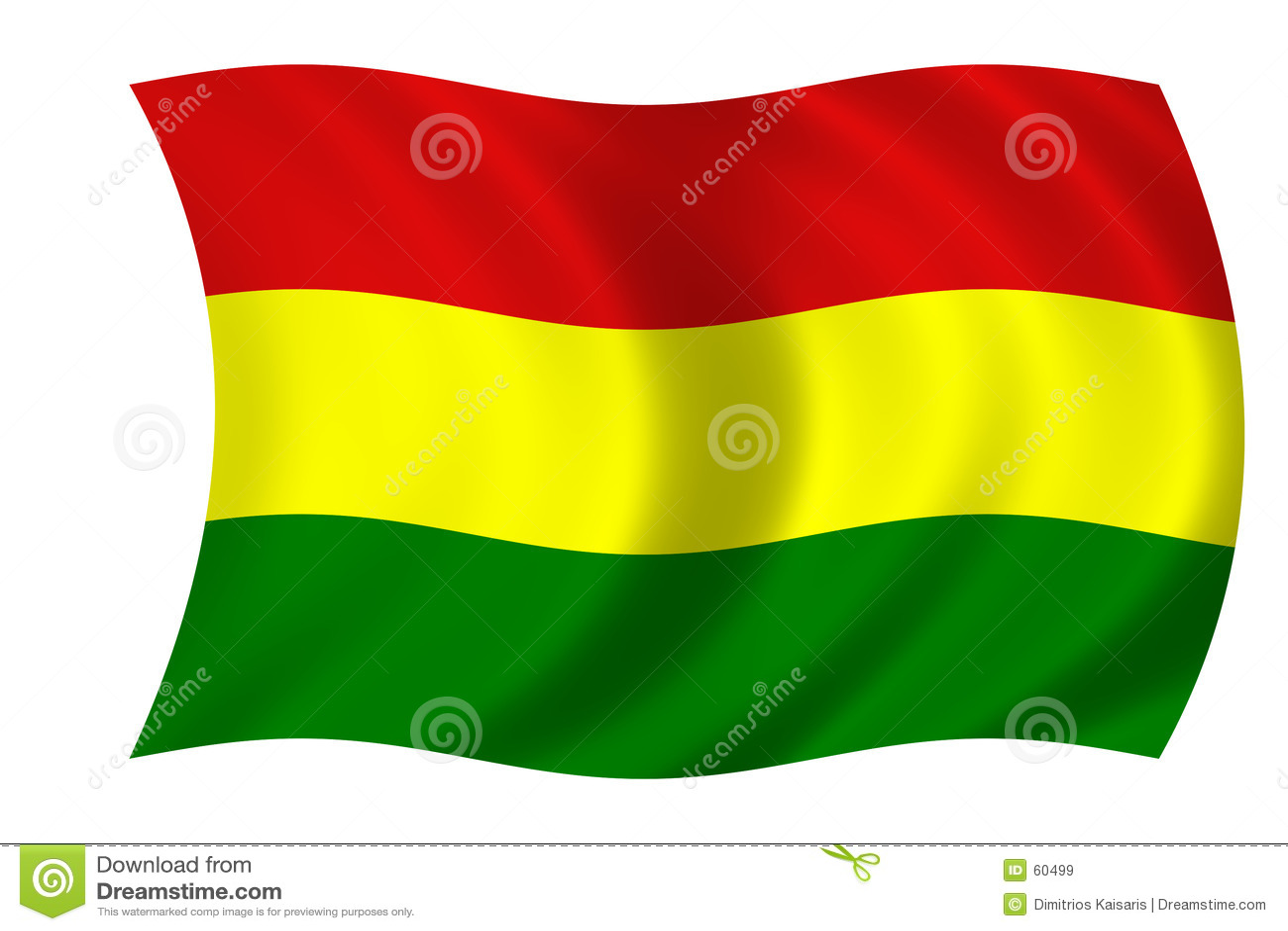 Bolivian flagga