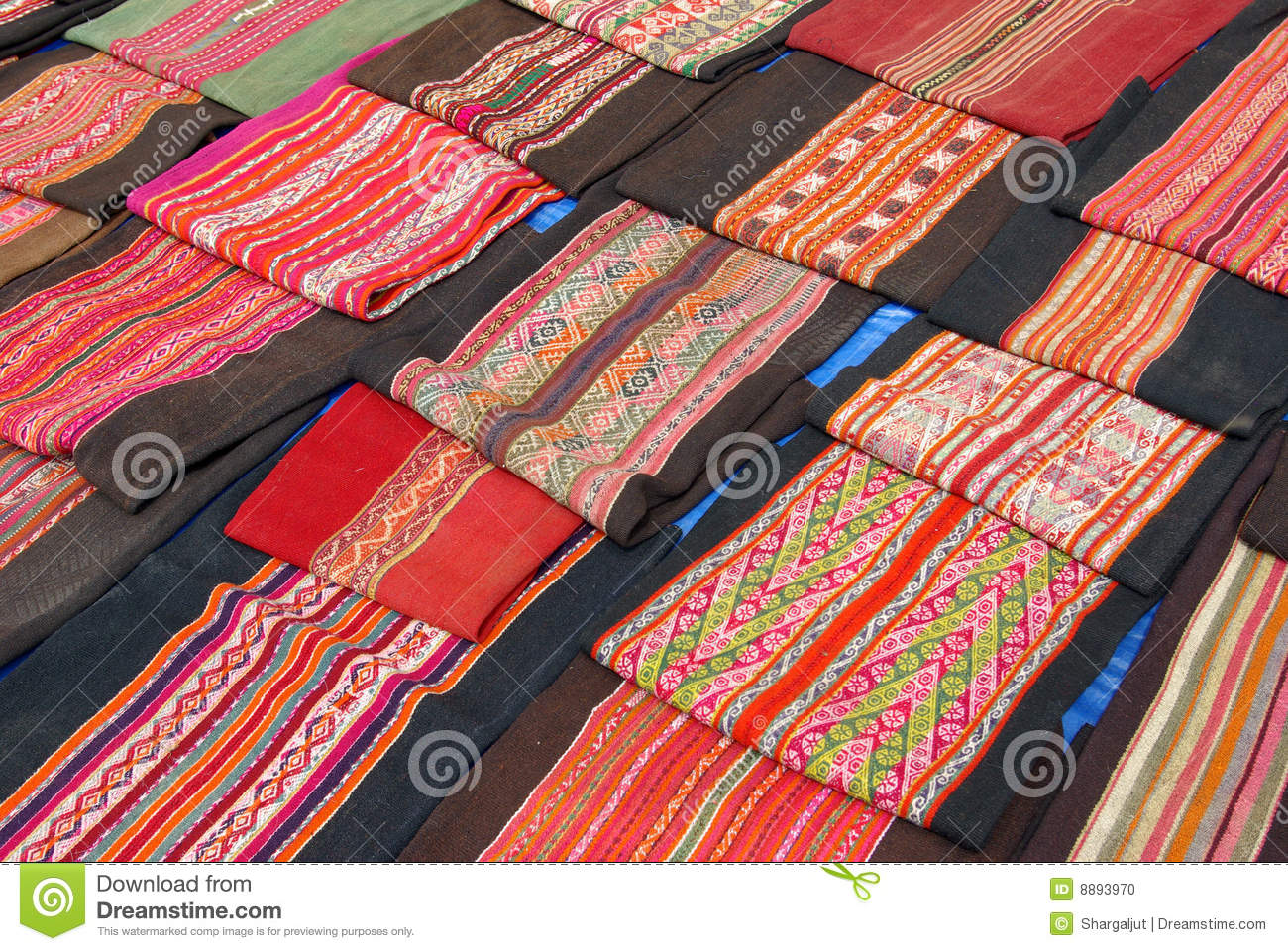 Bolivian Handcrafted Items Stock Photo Image Of Bolivia 8893970