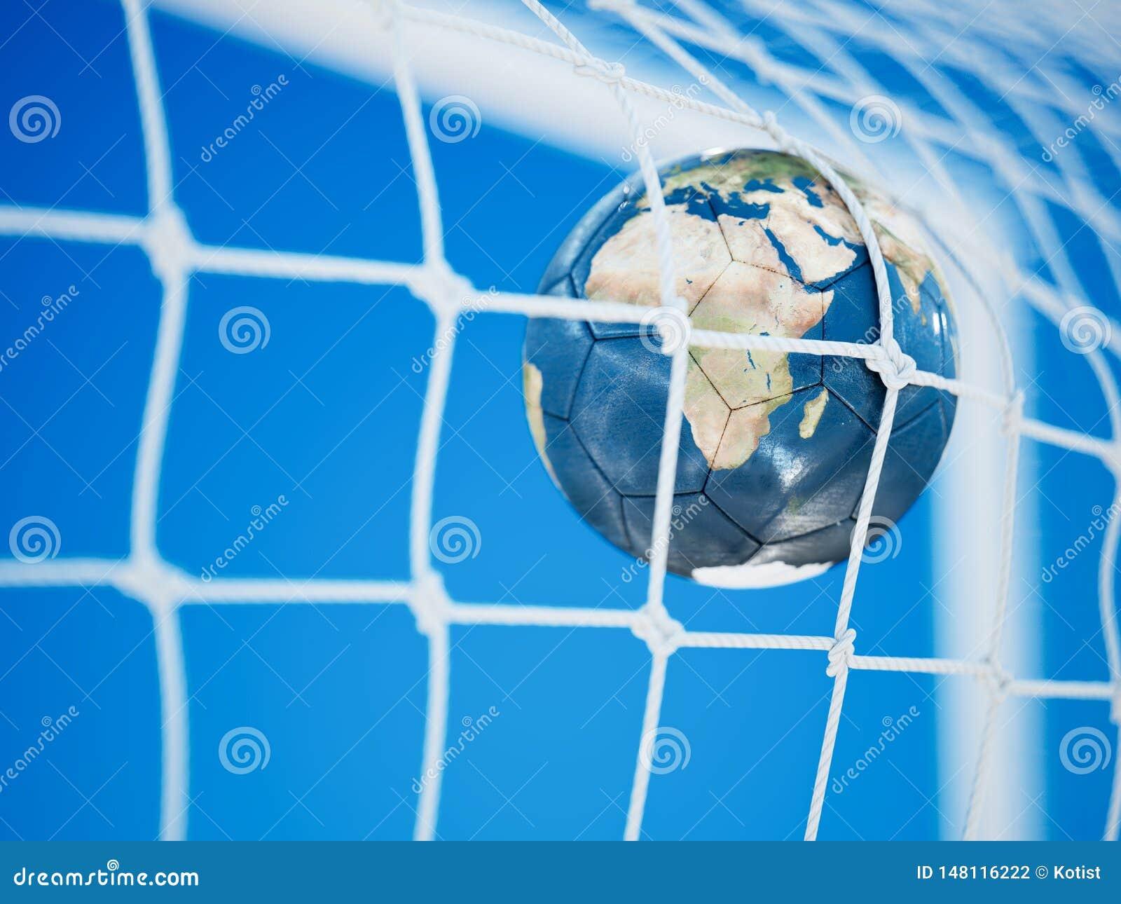 Boll för fotboll för fotbolljordplanet