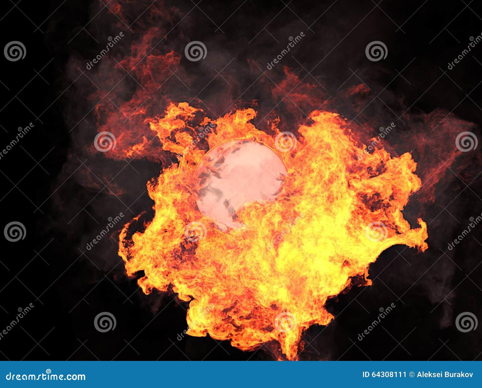 Boll i brand