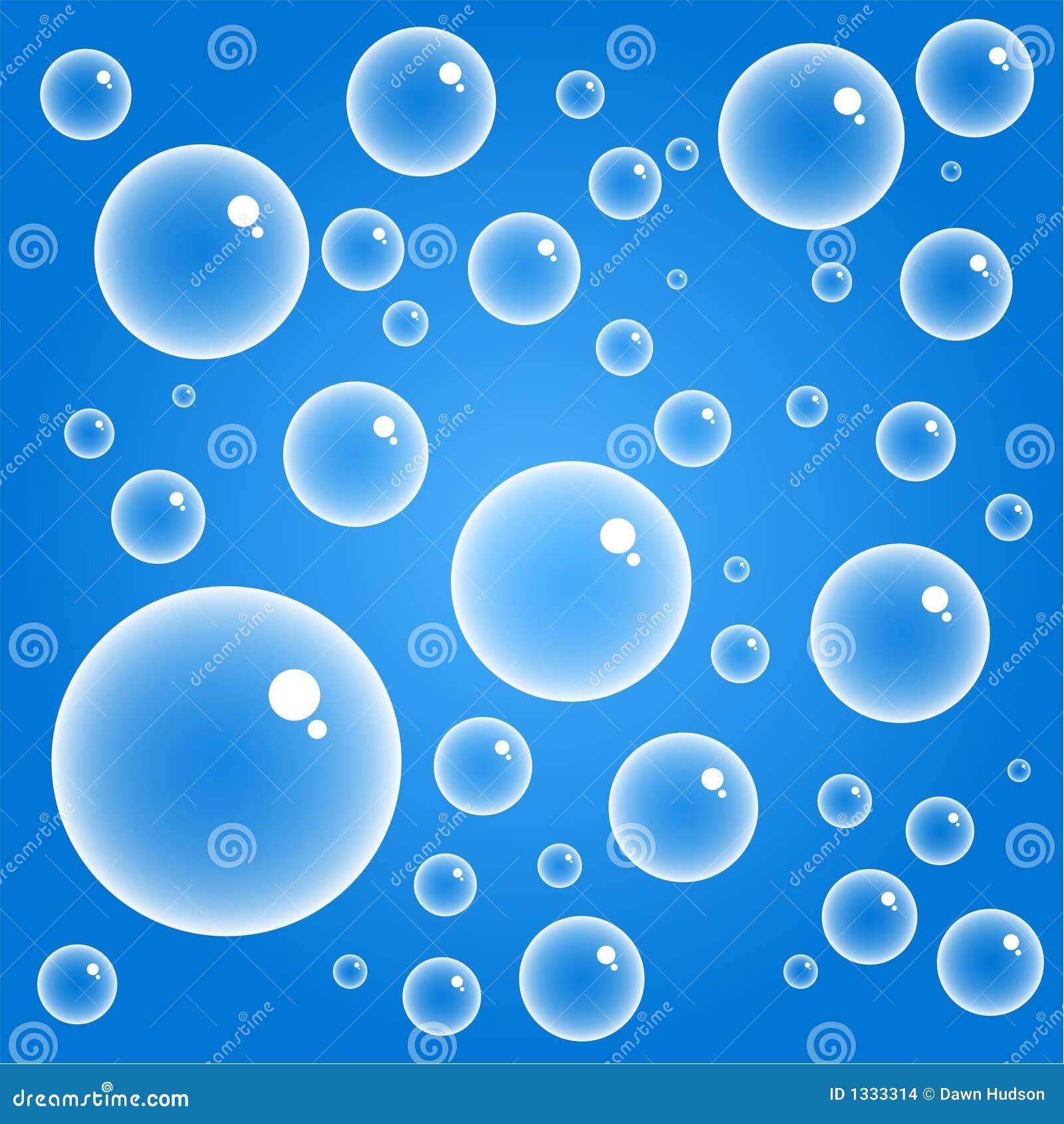 Bolle Blu Illustrazione Di Stock Illustrazione Di Cerchi 1333314