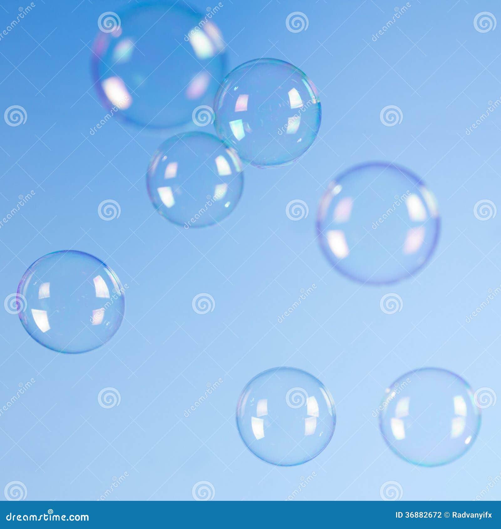 Download Bolle di sapone illustrazione di stock. Illustrazione di closeup - 36882672