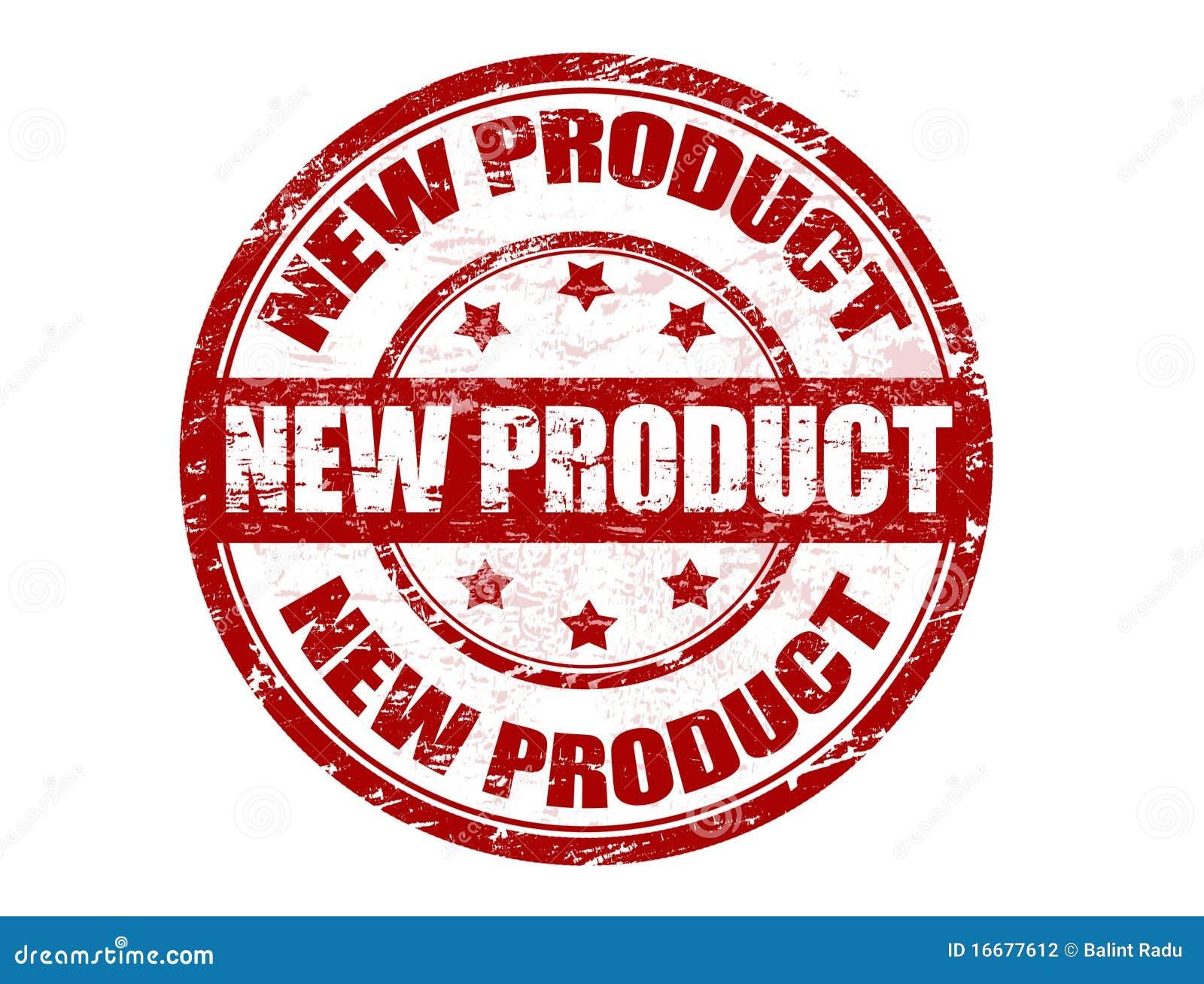 Bollo del nuovo prodotto