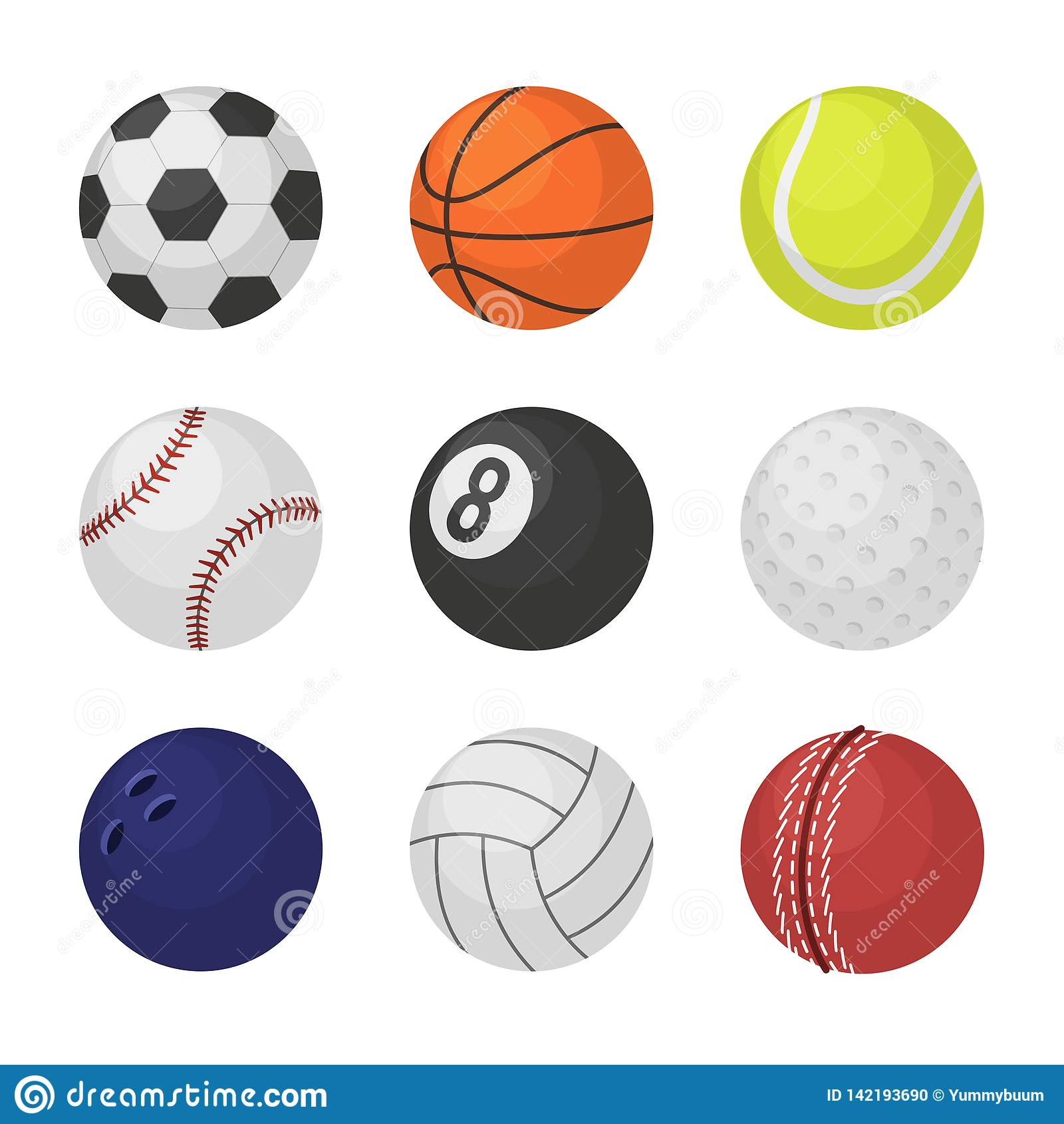 Bollsamling Biljard för syrsa för tennis för basket för fotboll för bollar för lek för sportutrustning som bowlar volleybo