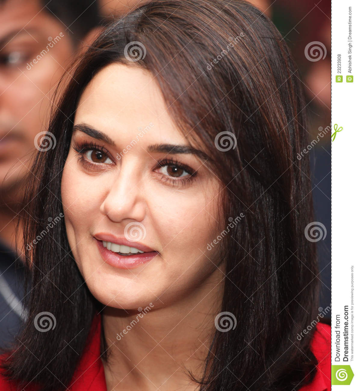 bollywood actress preity zinta editorial stock photo - image of