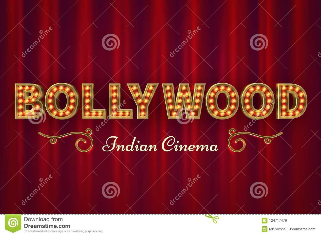 Bollywood Movie Poster Background