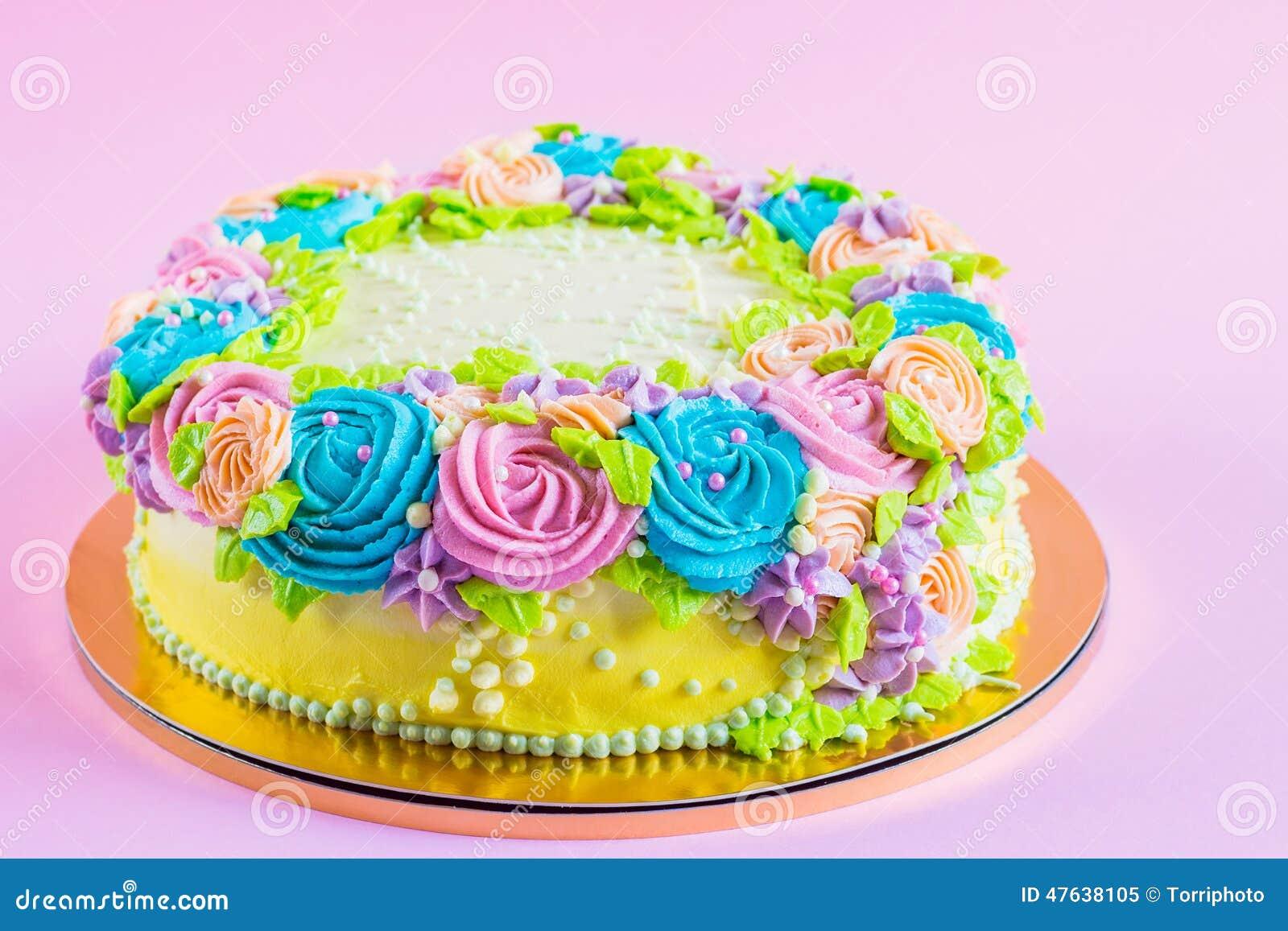 Neon Birthday Cake Recipes
