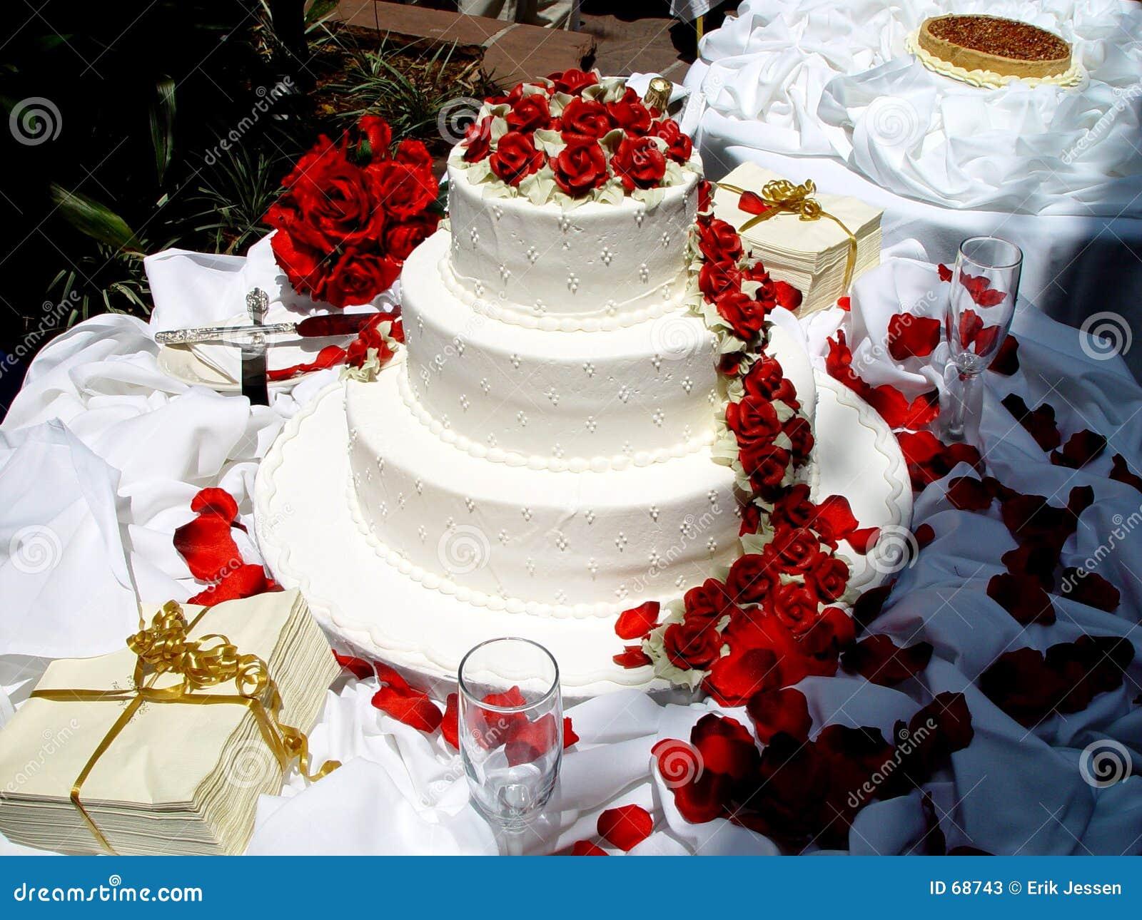 bolo de casamento fotos de stock imagem 68743