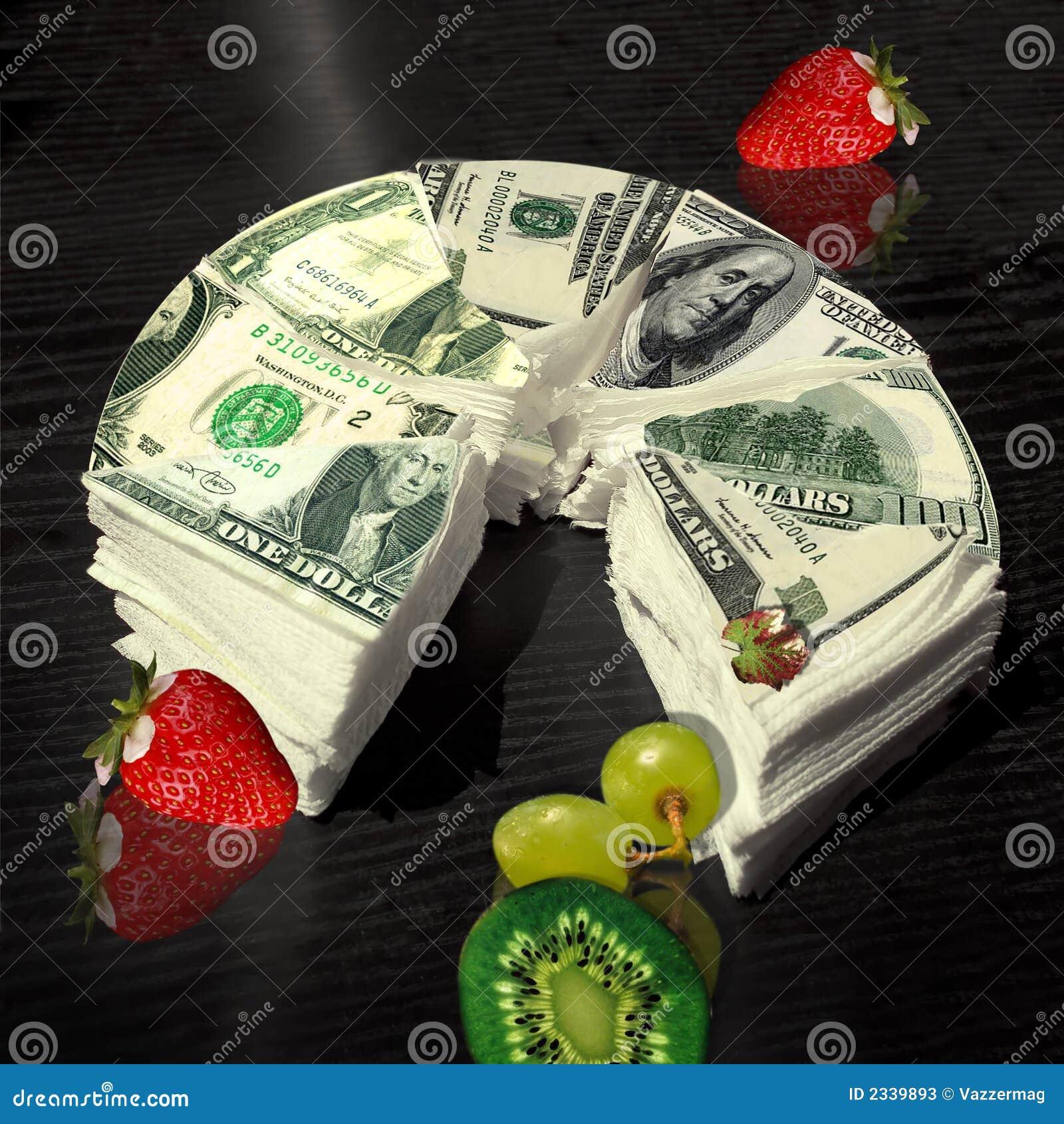 Dollar Cake Images