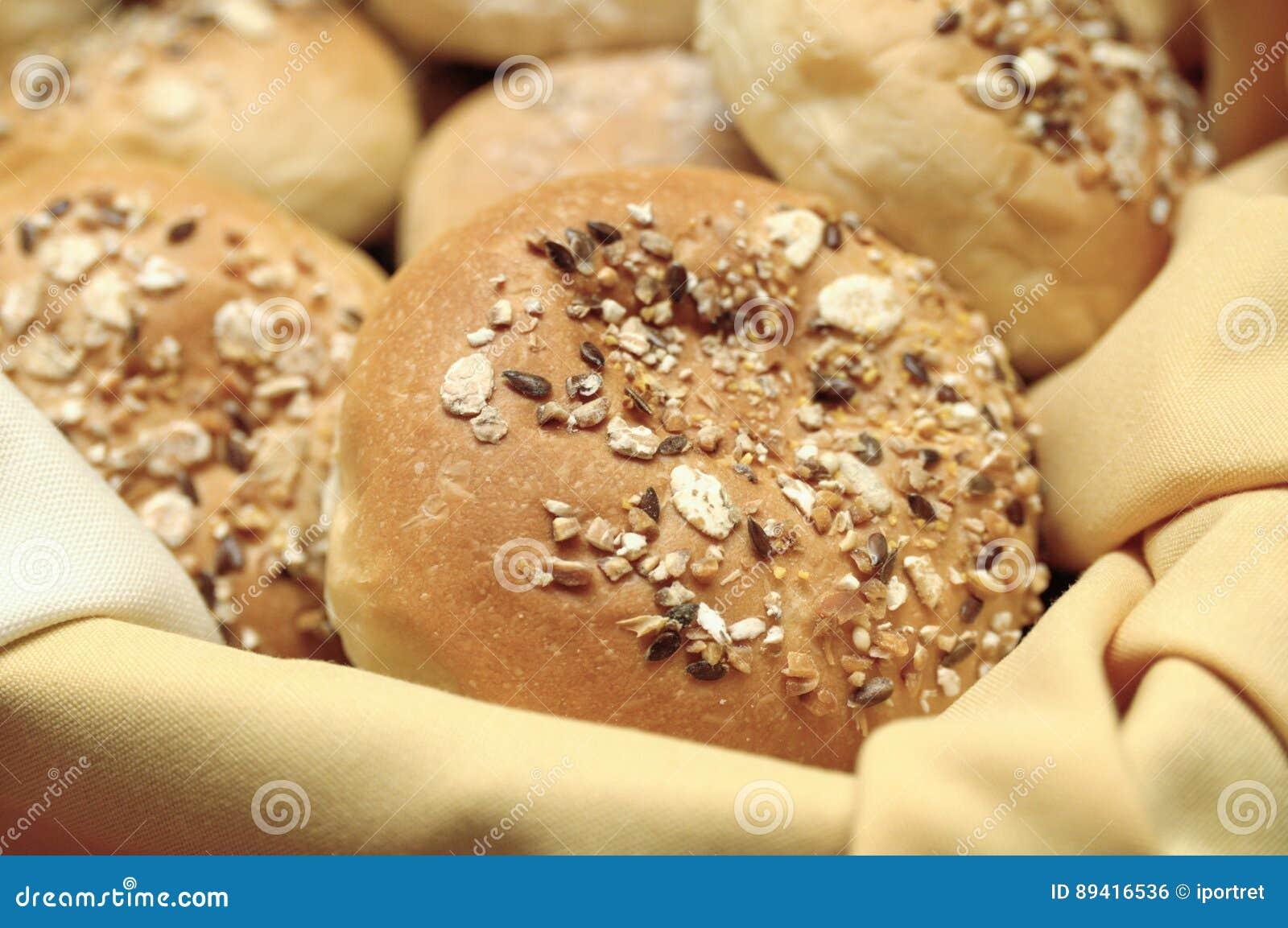 Bolos da aveia do trigo