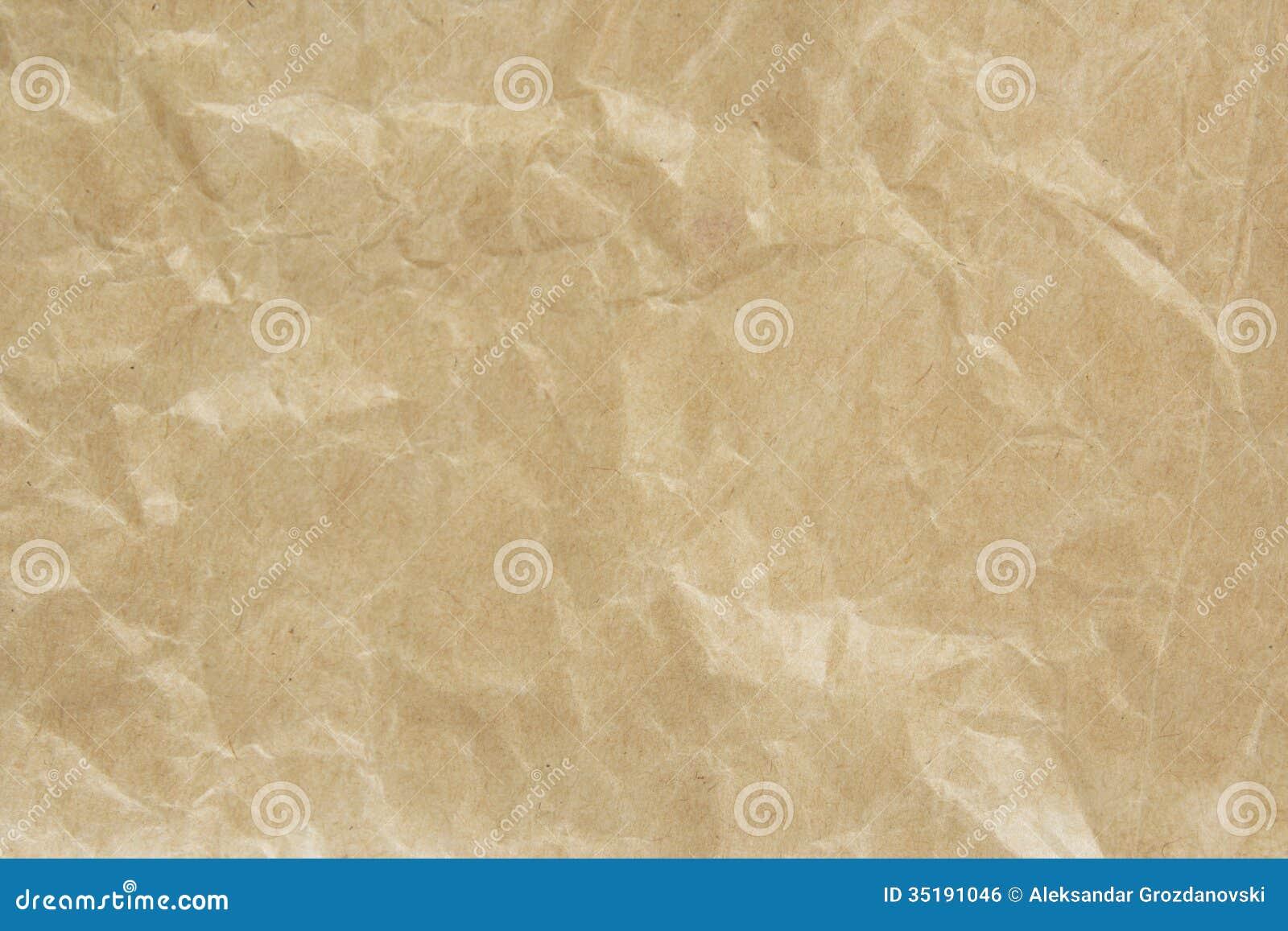 Bolsa de papel de Brown