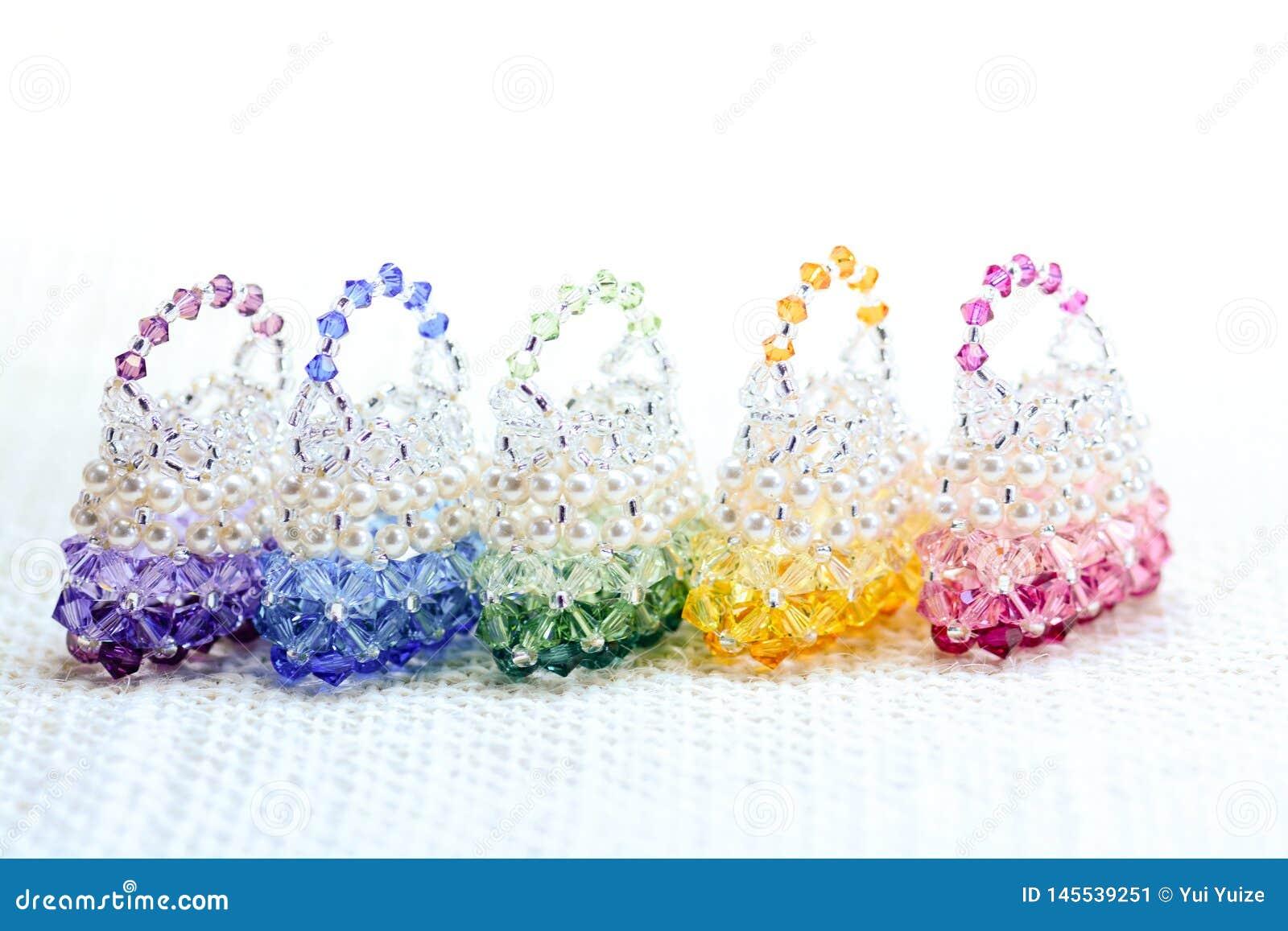 Bolsa elegante com cristal