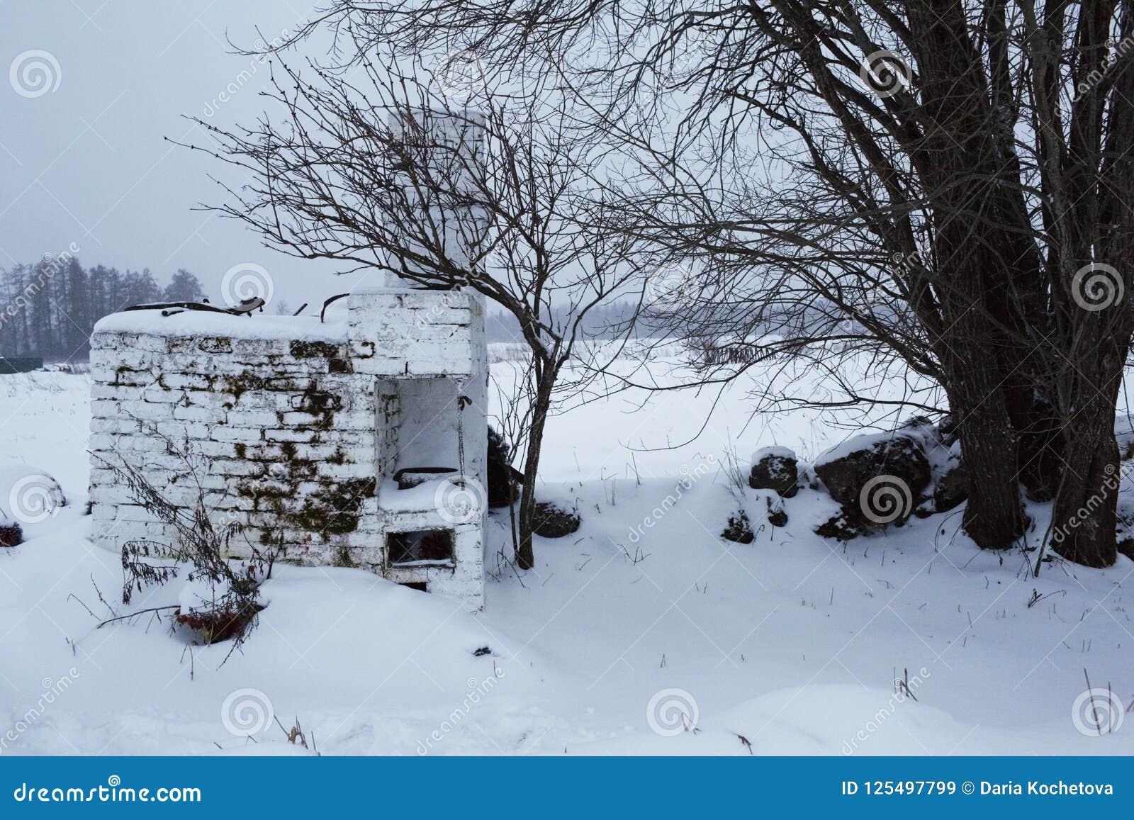 Bolshoye Zarechye, village sur le territoire de la région de Léningrad, Russie,