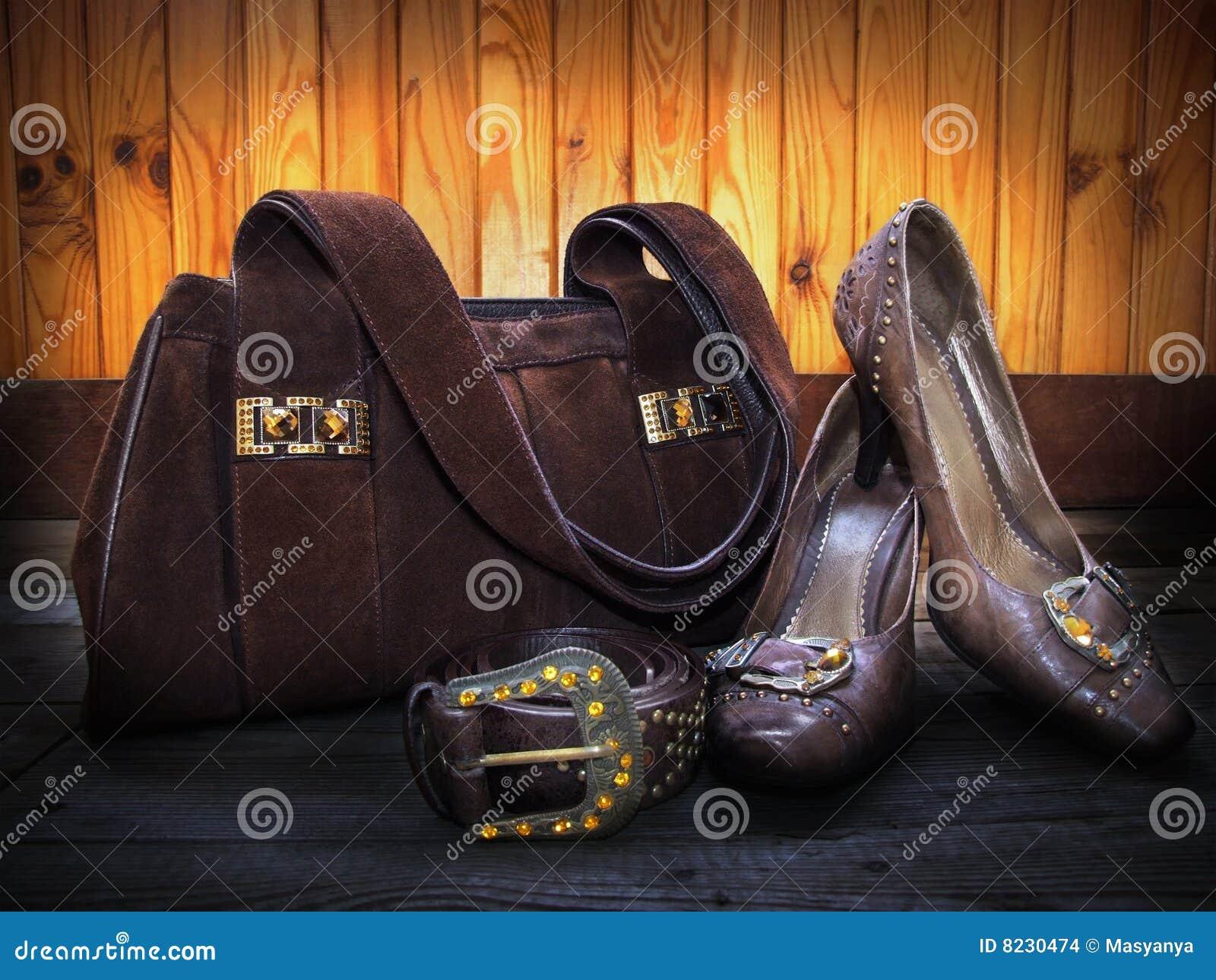 Ante Correa Zapatos Archivo Foto Y Cuero Bolso Imagen De Del OU5FnwqR