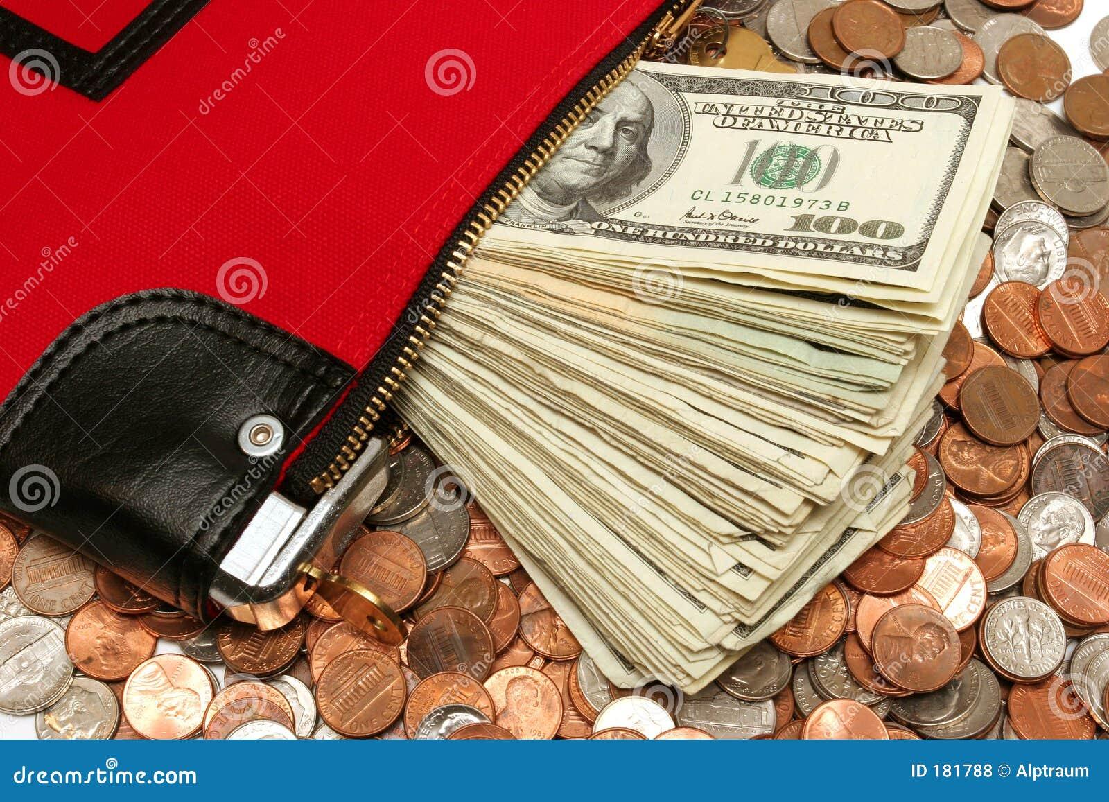 Bolso del depósito del dinero